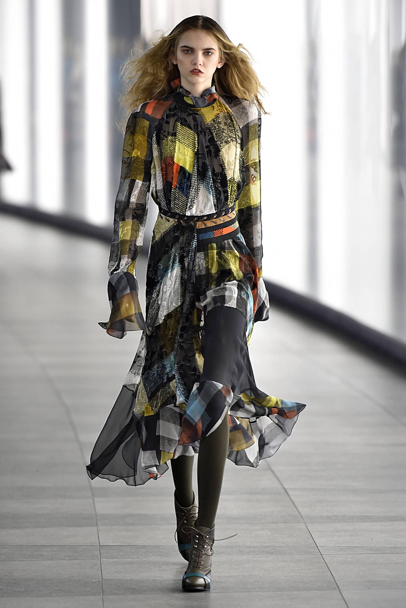 Fall Fashion Woman Preen by Thornton Bregazzi Collection