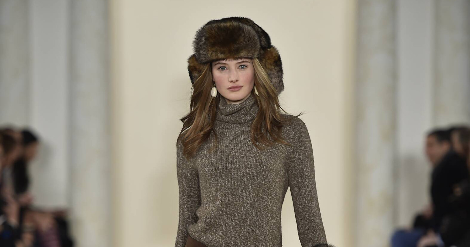 Fall Fashion Woman Ralph Lauren Collection 2015