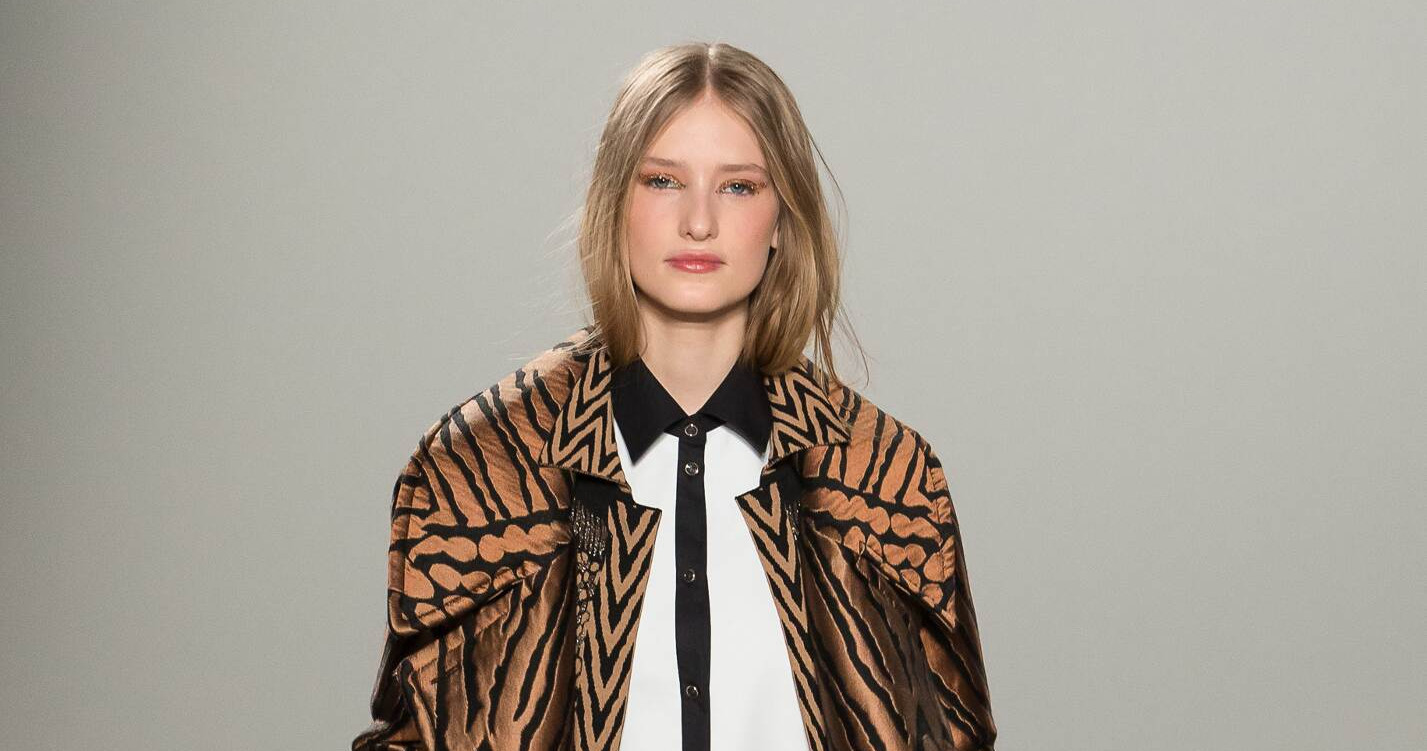 Fall Fashion Woman Temperley London Collection 2015