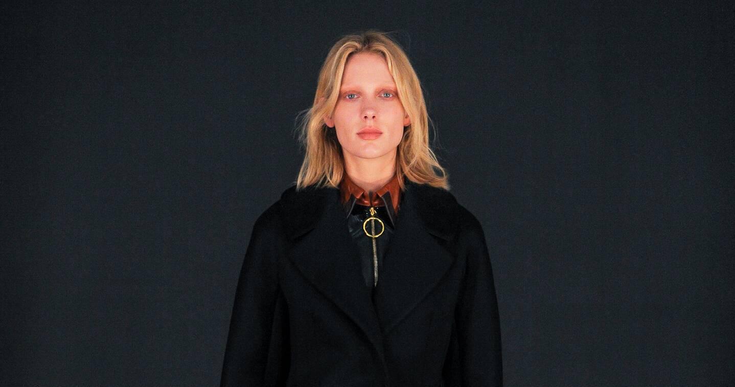Fall Fashion Woman Thomas Tait Collection 2015
