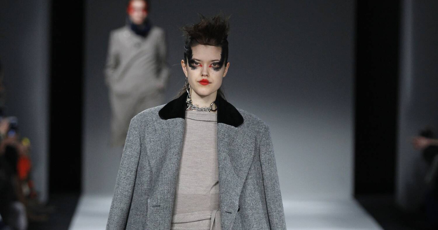 Fall Fashion Woman Vivienne Westwood Red Label Collection 2015