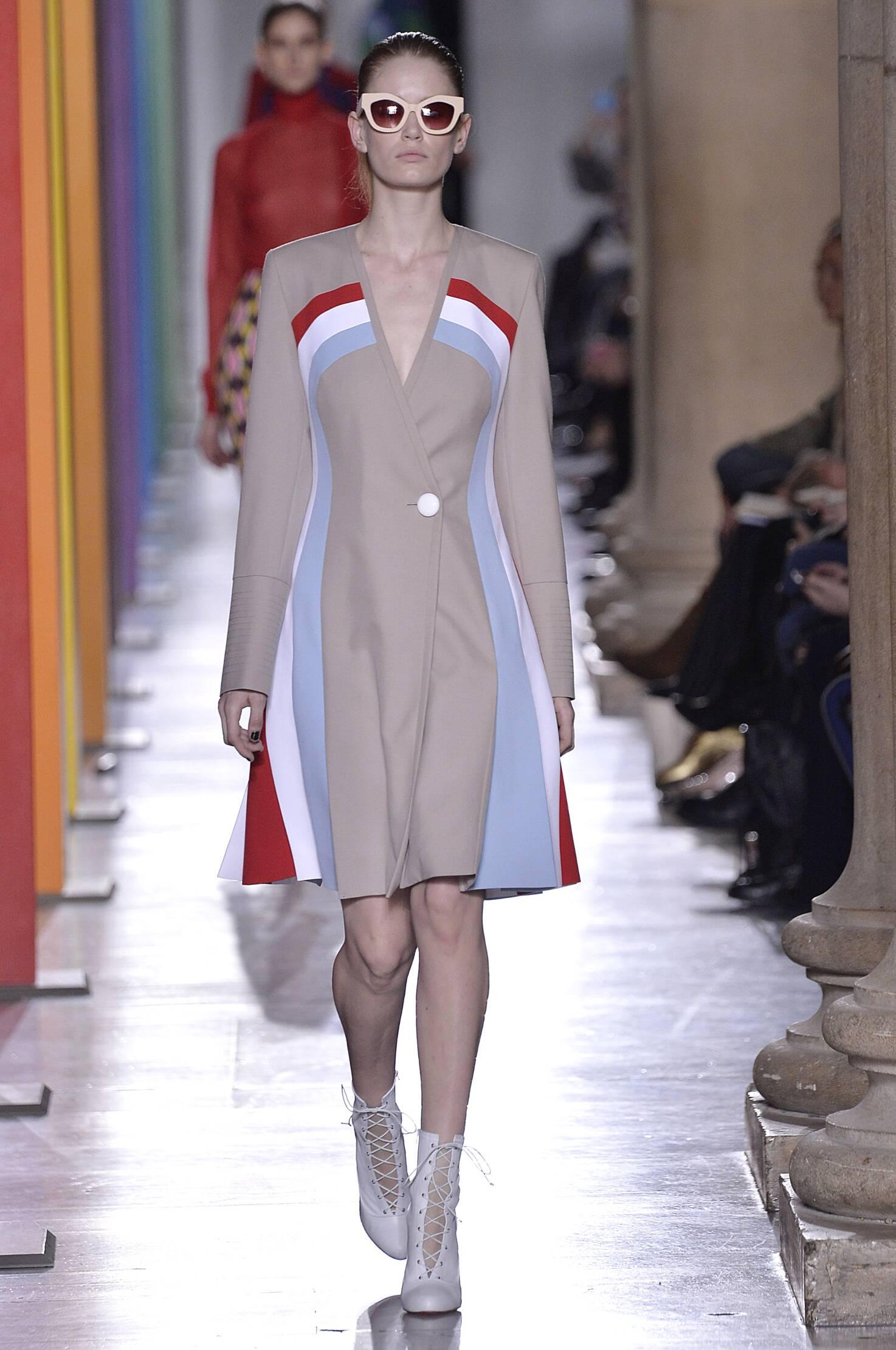 Fall Jonathan Saunders Collection Fashion Women Model