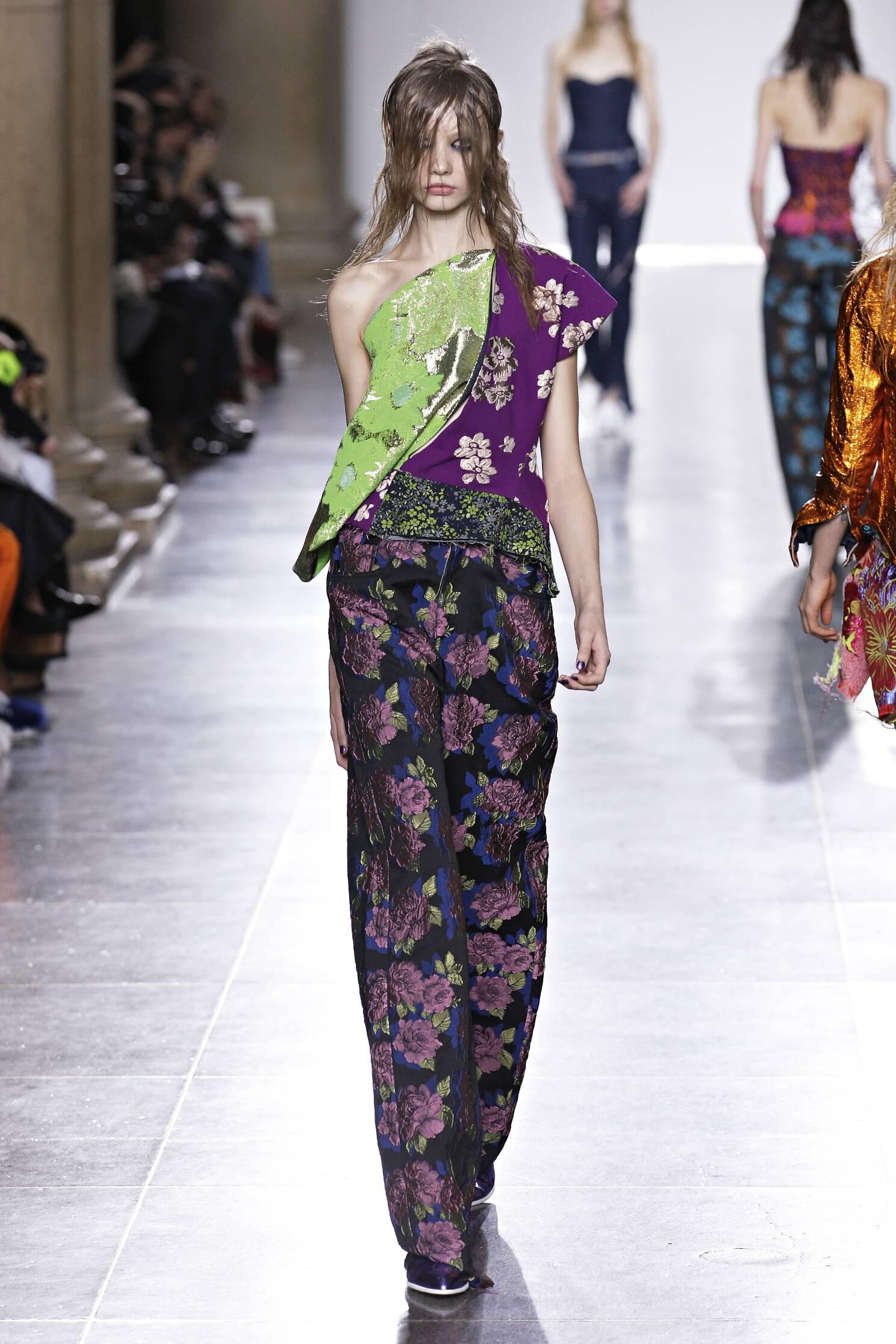 Fall Marques Almeida Collection Fashion Women Model