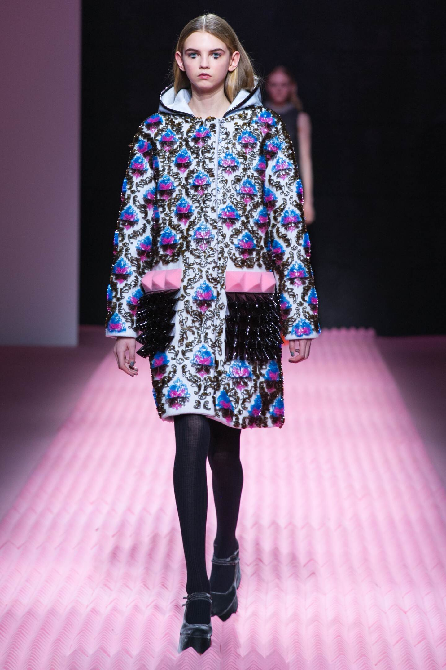Fall Mary Katrantzou Collection Fashion Women Model