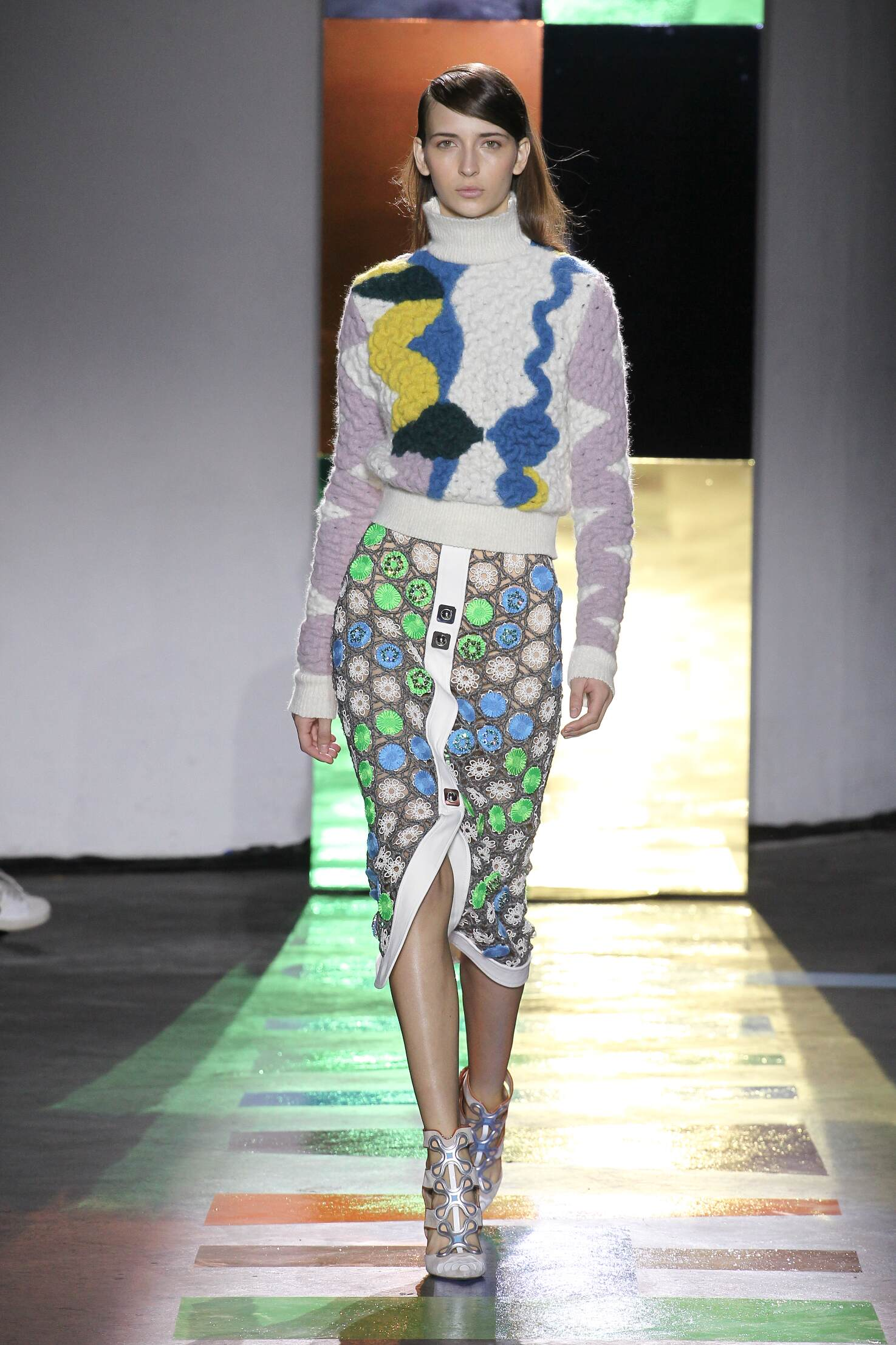 Fall Peter Pilotto Collection Fashion Women Model