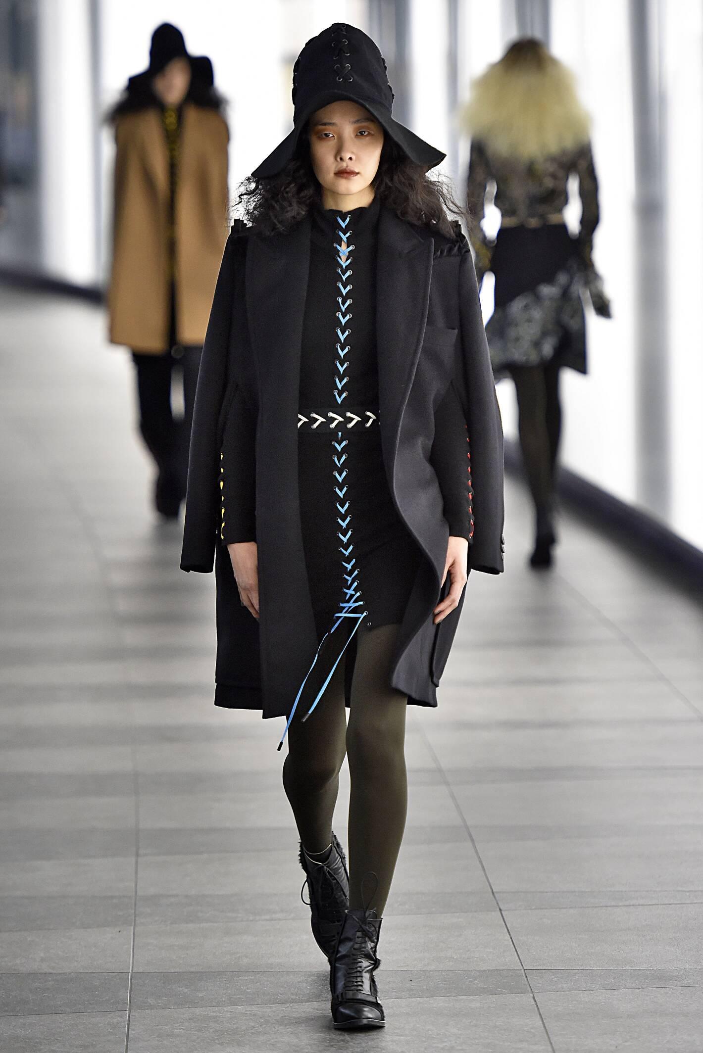Fall Preen by Thornton Bregazzi Collection Fashion Woman Model