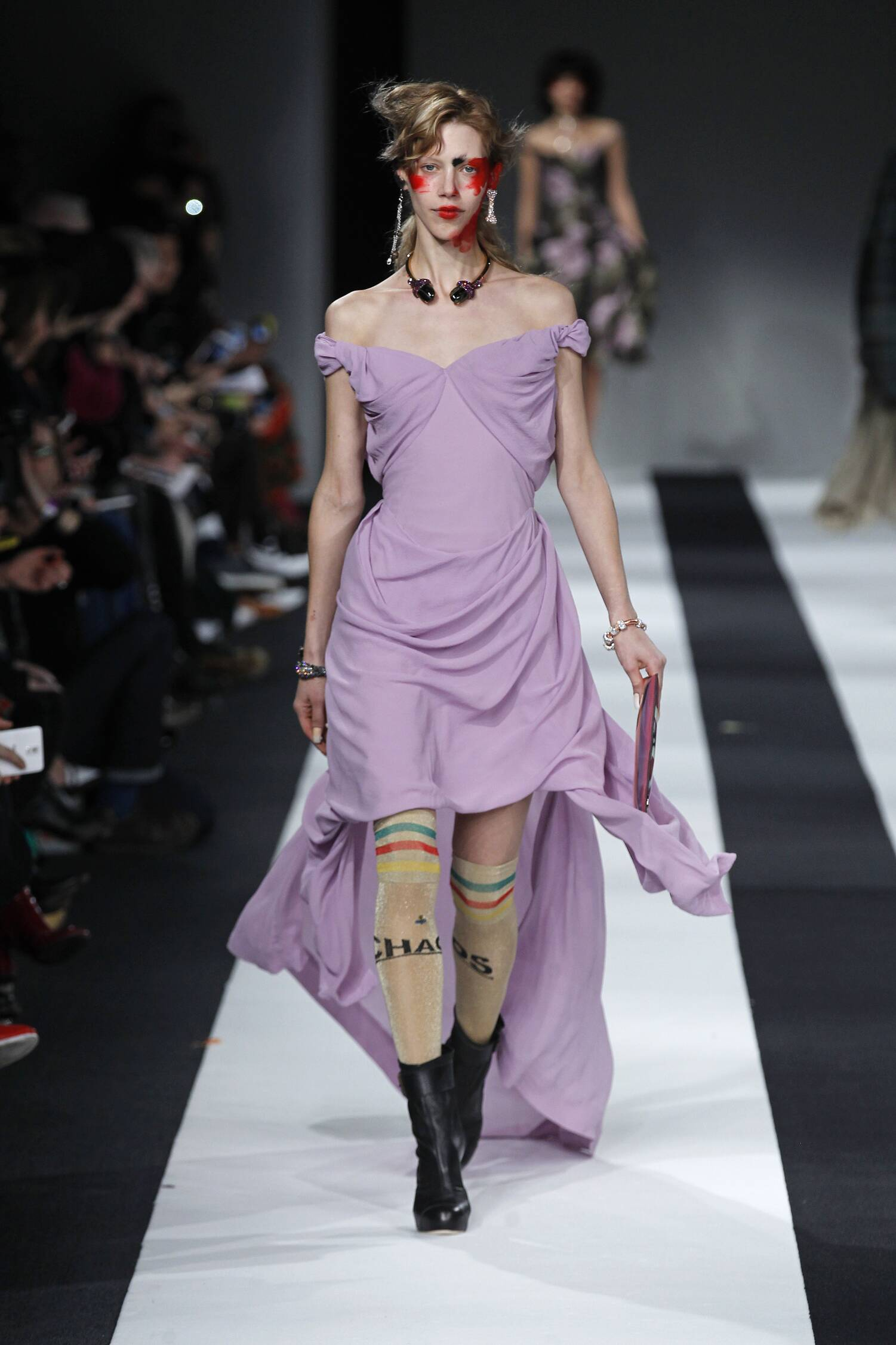 Fall Vivienne Westwood Red Label Collection Fashion Women Model