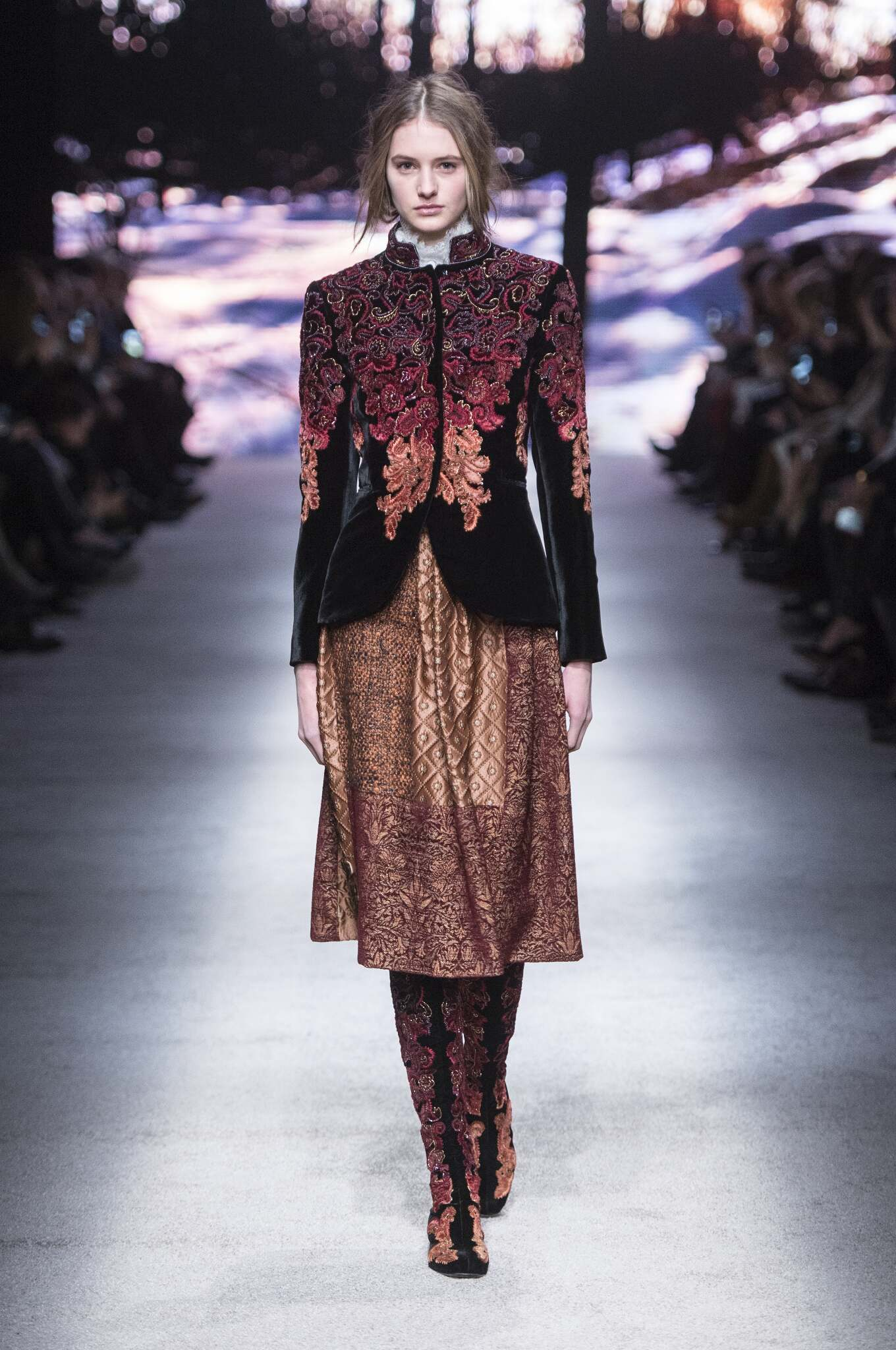 Fall Winter 2015 16 Fashion Collection Alberta Ferretti