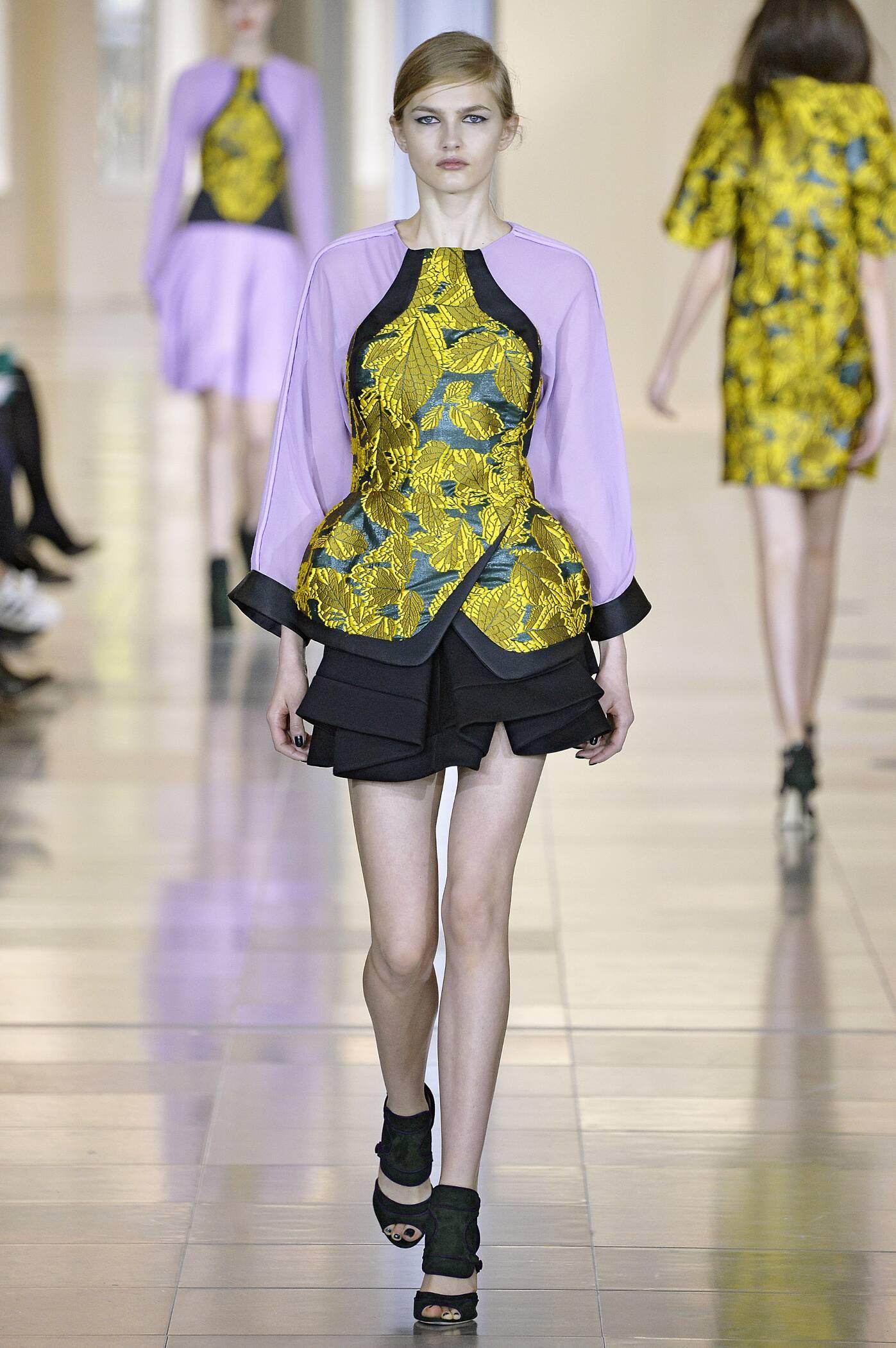 Fall Winter 2015 16 Fashion Collection Antonio Berardi
