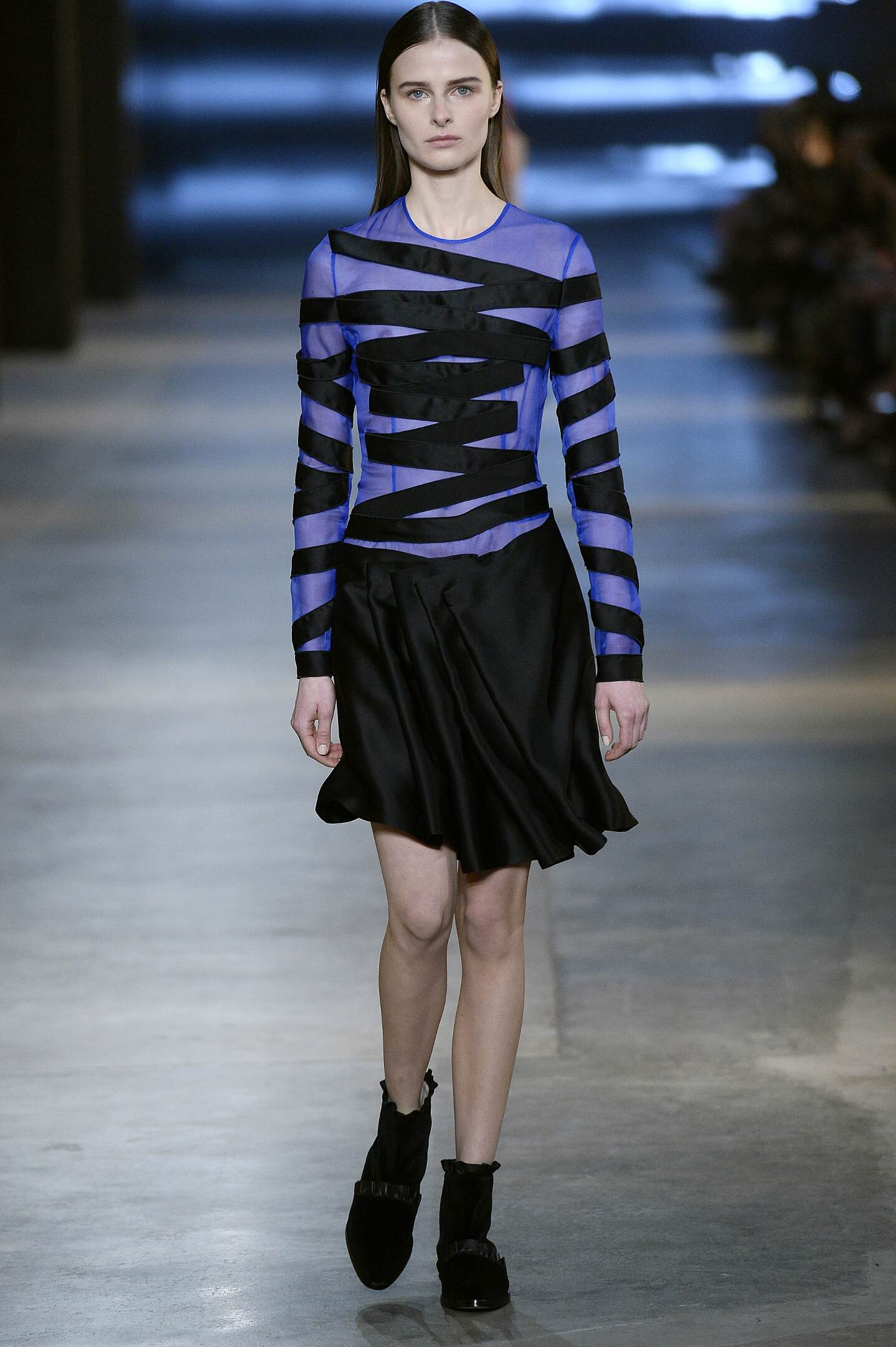 Fashion Model Christopher Kane Collection Catwalk