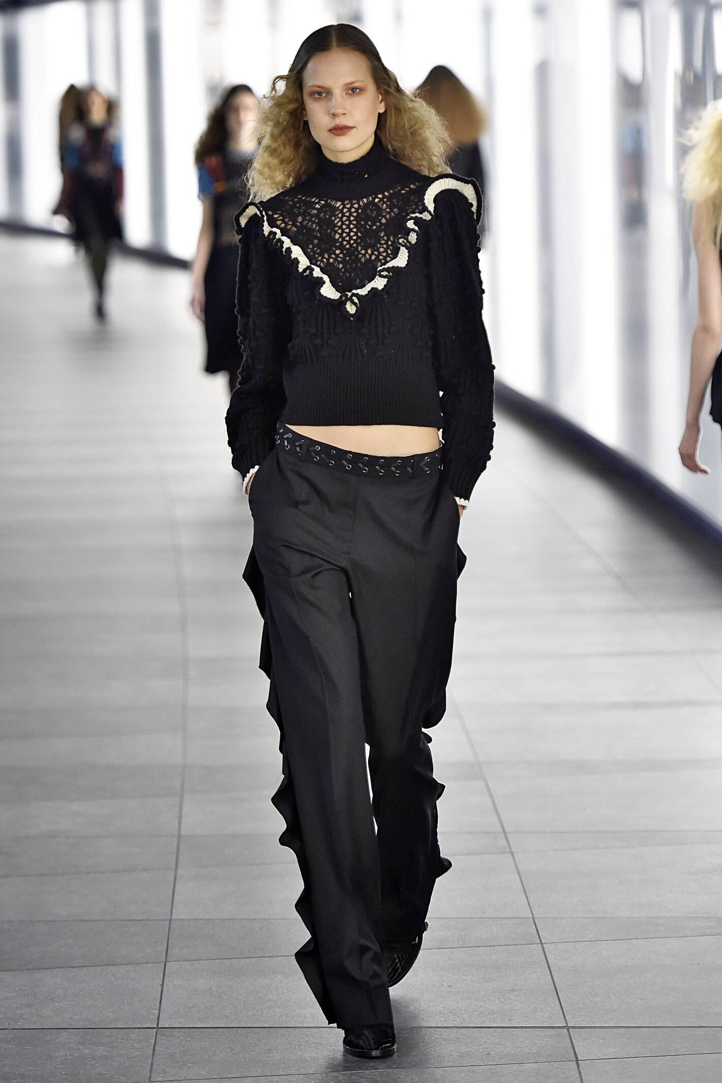 Fashion Model Preen by Thornton Bregazzi Collection Catwalk