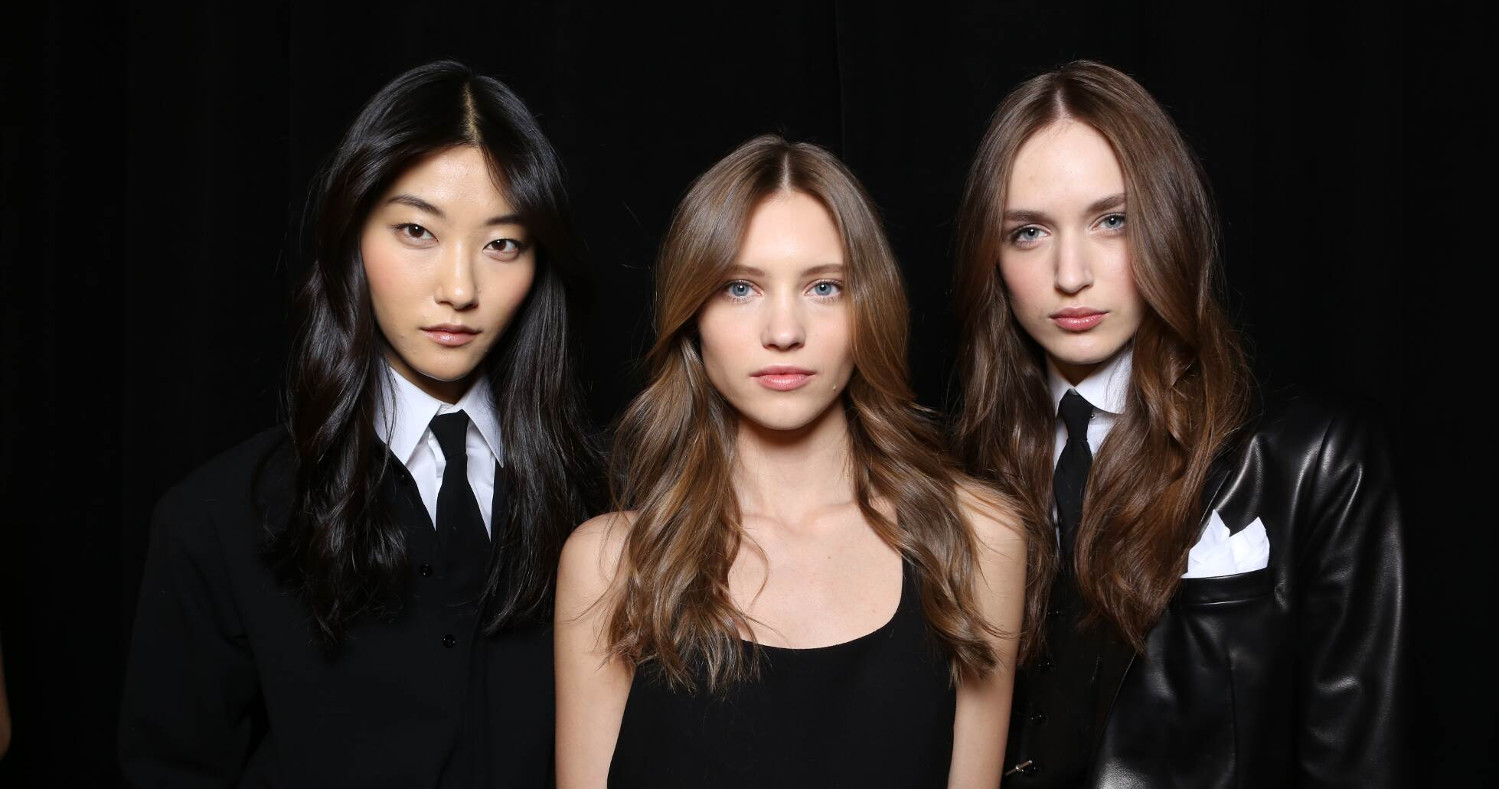 Fashion Models Ralph Lauren Backstage 2015