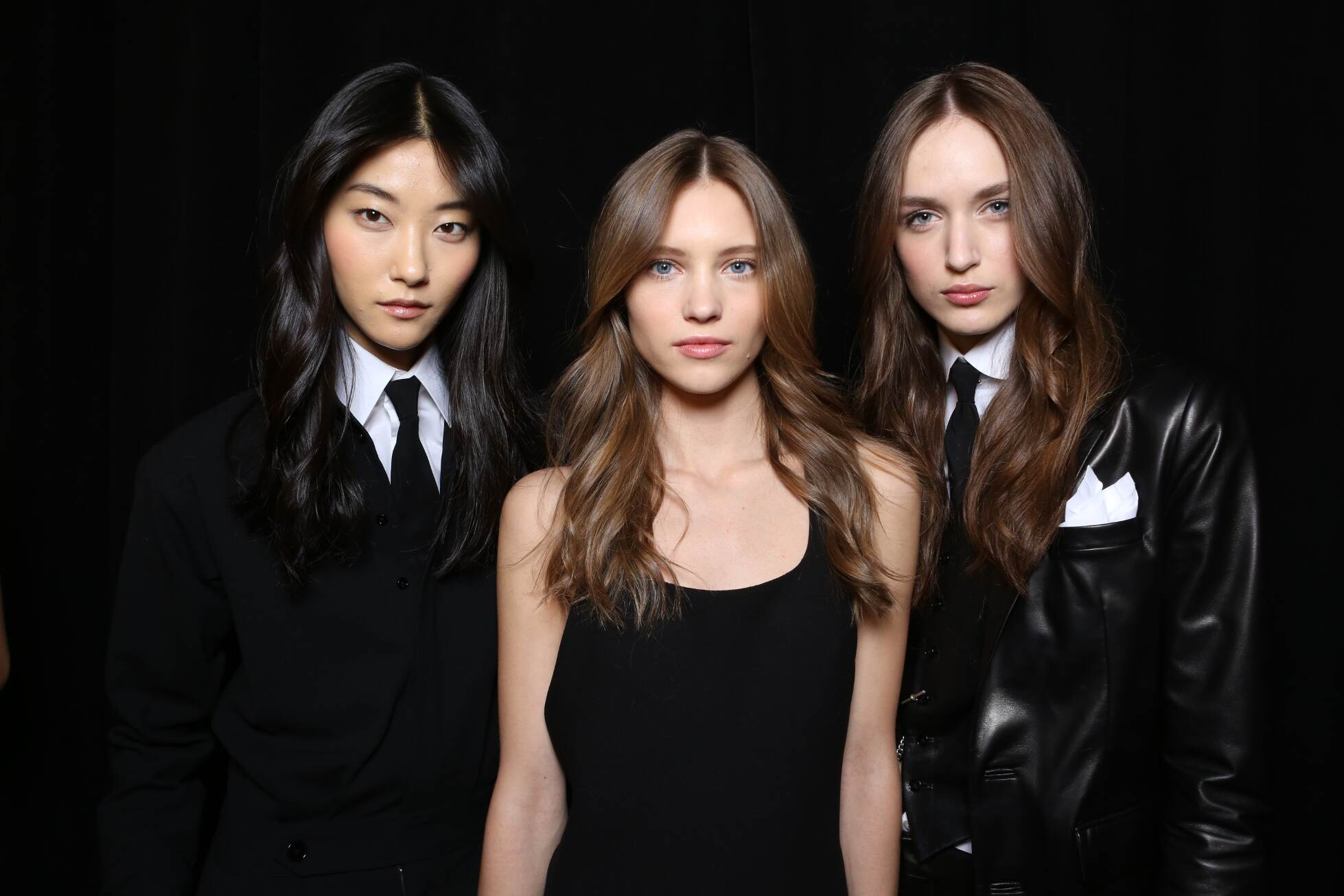 Fashion Models Ralph Lauren Backstage