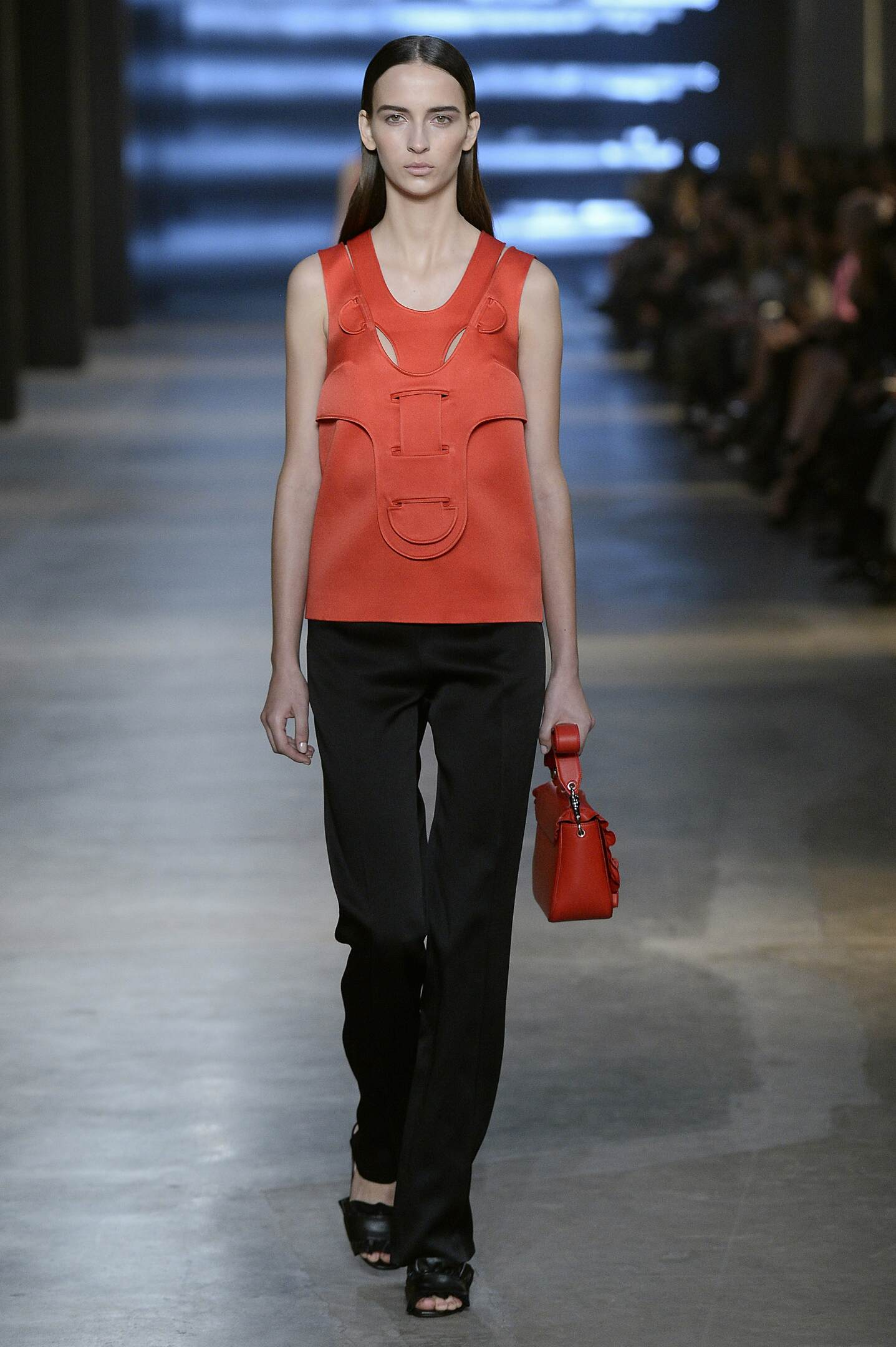 Fashion Woman Model Christopher Kane Collection Catwalk