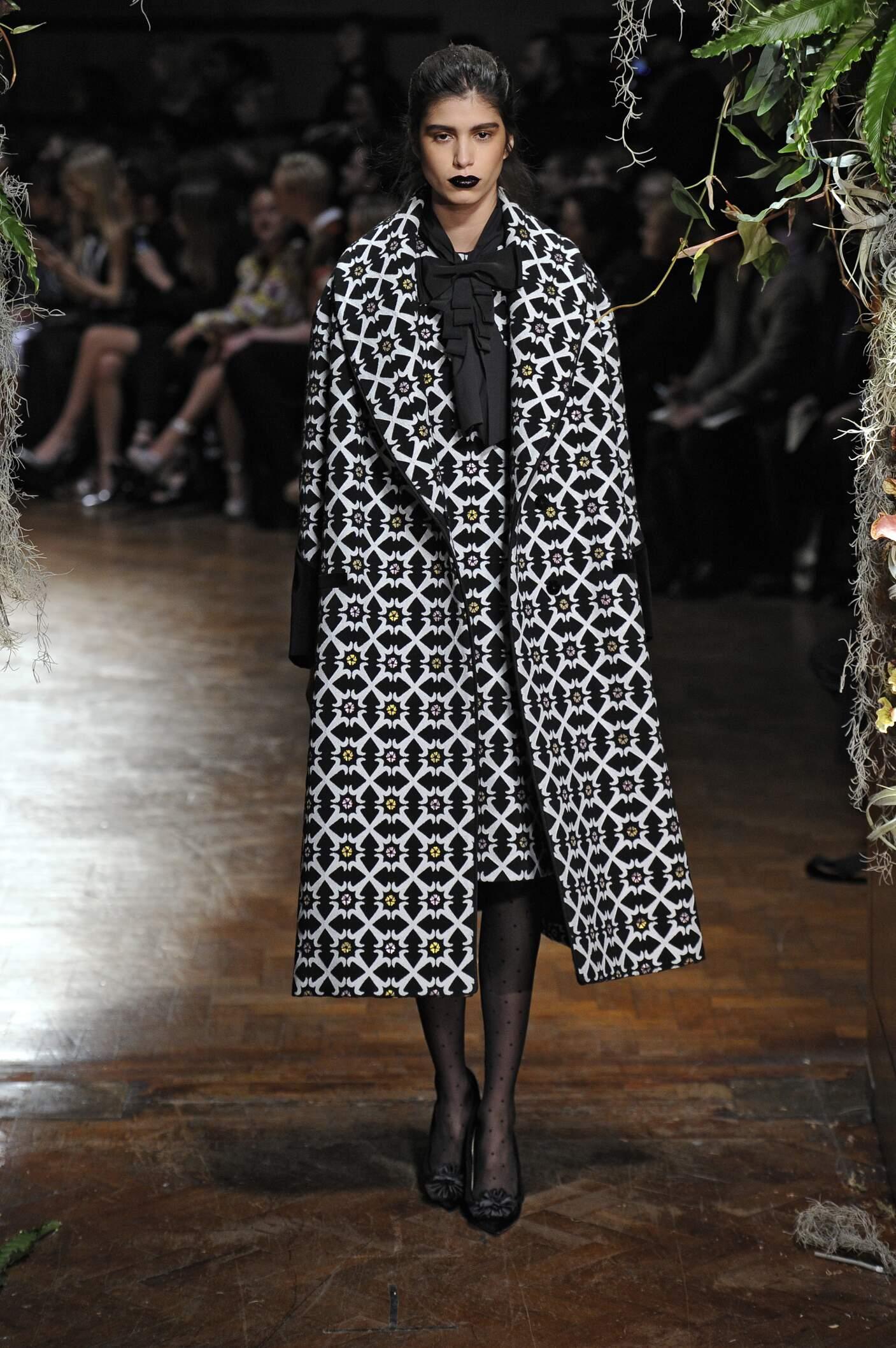 Giles Collection London Fashion Week Womenswear
