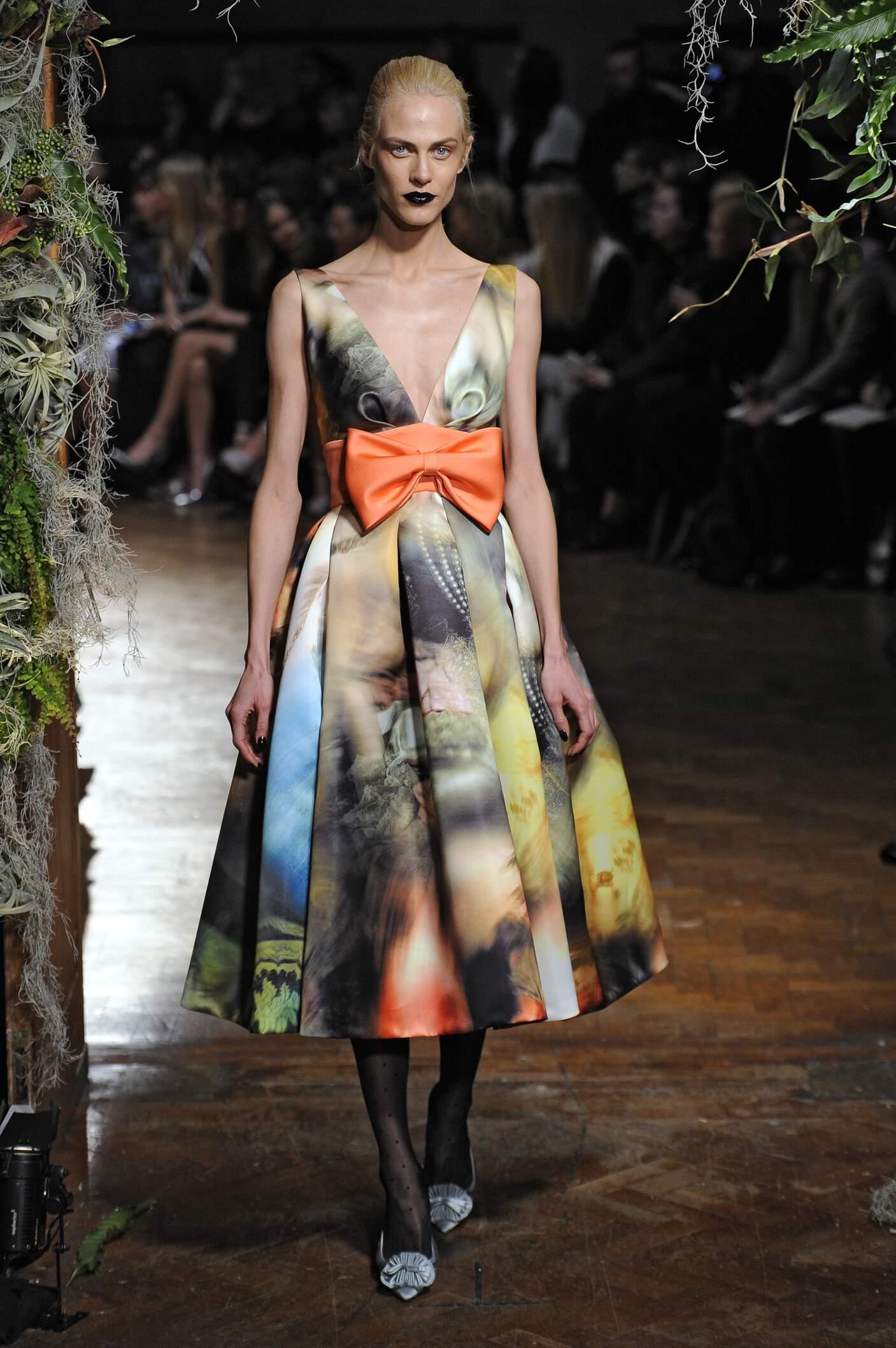 Giles Collection Woman London Fashion Week