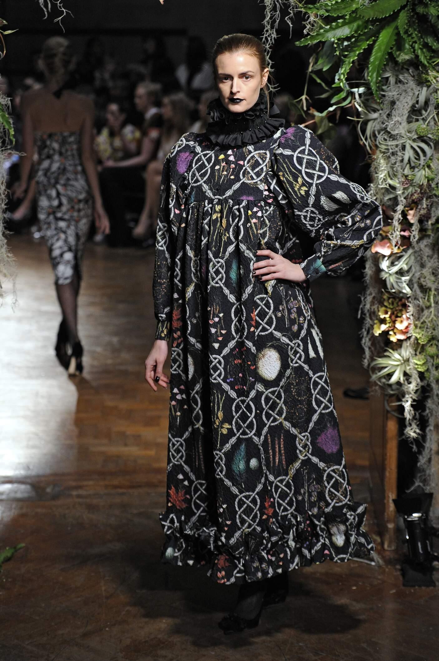 Giles Fall Winter 2015 16 Womens Collection London Fashion Week