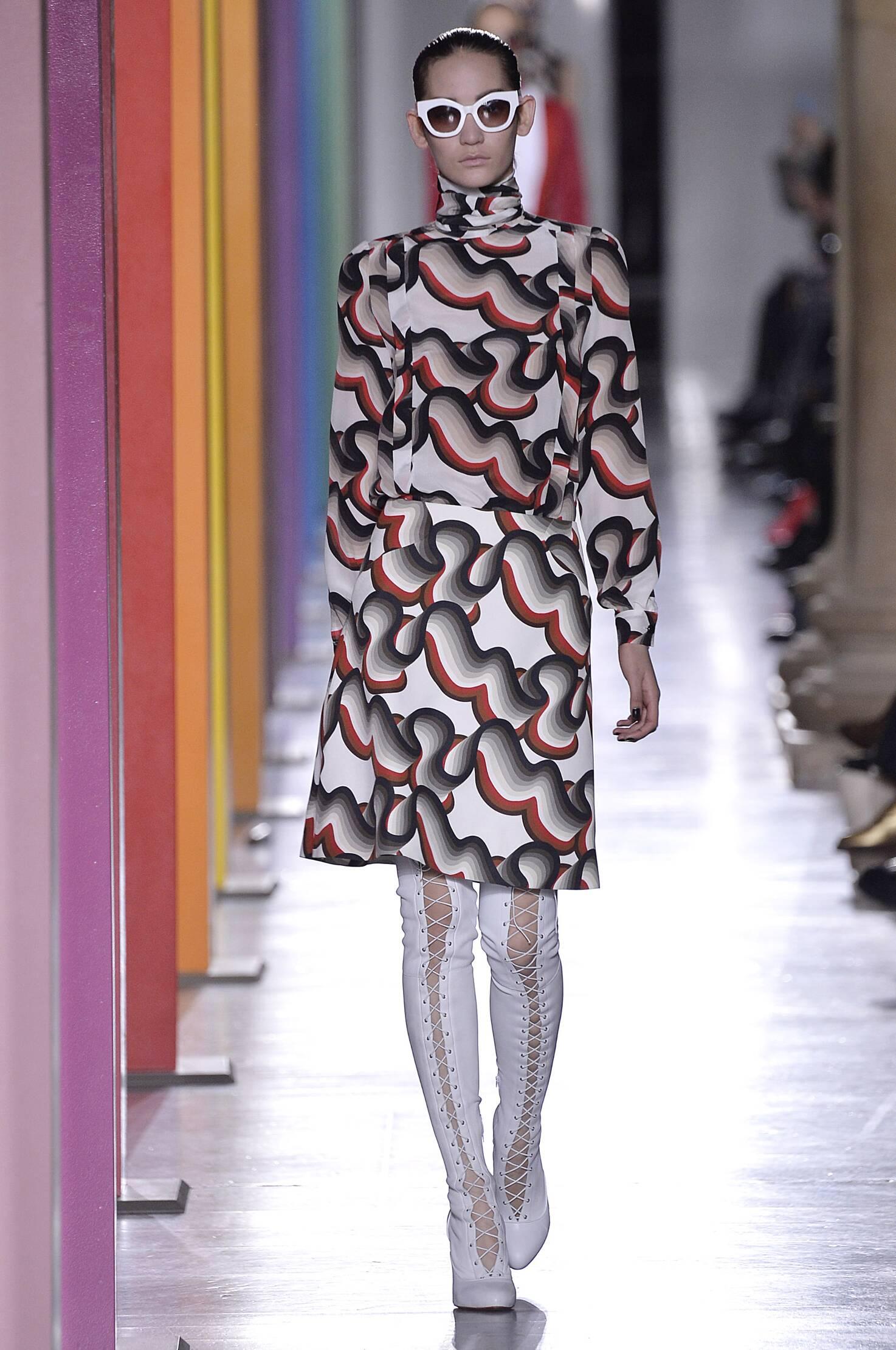 Jonathan Saunders Fall Winter 2015 16 Womenswear Collection London Fashion Week Fashion Show