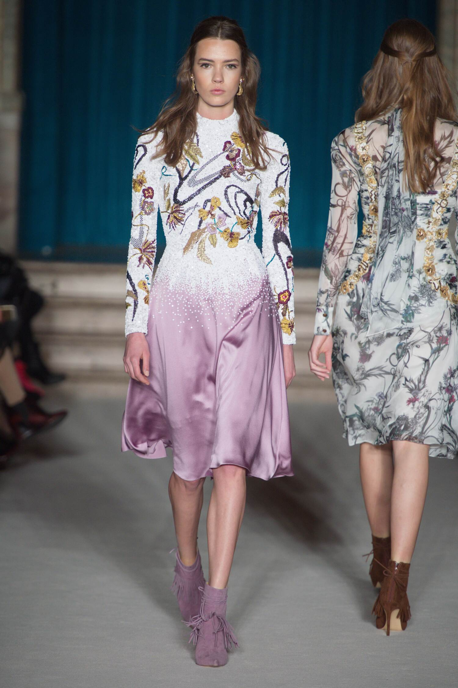 Matthew Williamson Collection Winter 2015 Catwalk