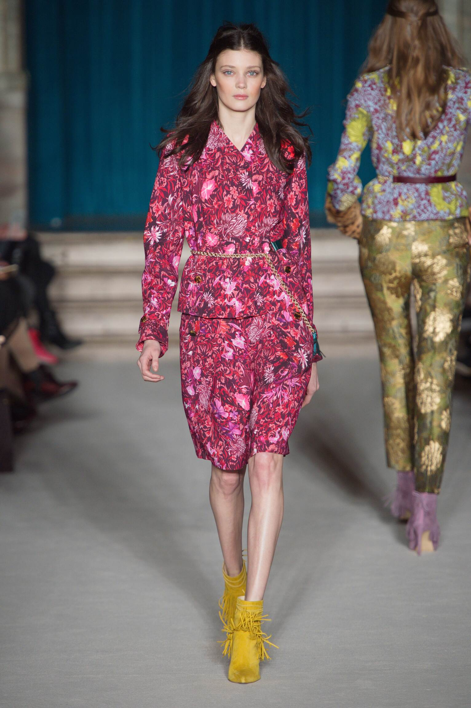 Matthew Williamson Fall Winter 2015 16 Women's Collection London Fashion Week Fashion Show