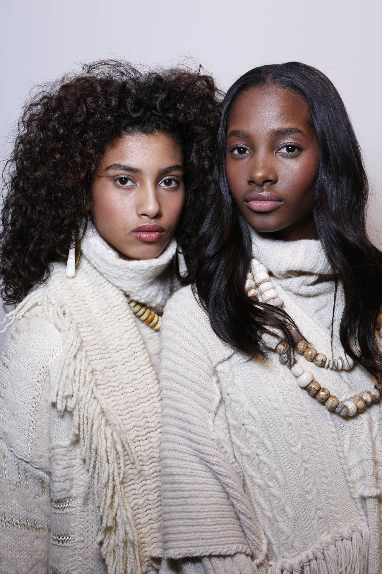 Models Backstage Ralph Lauren
