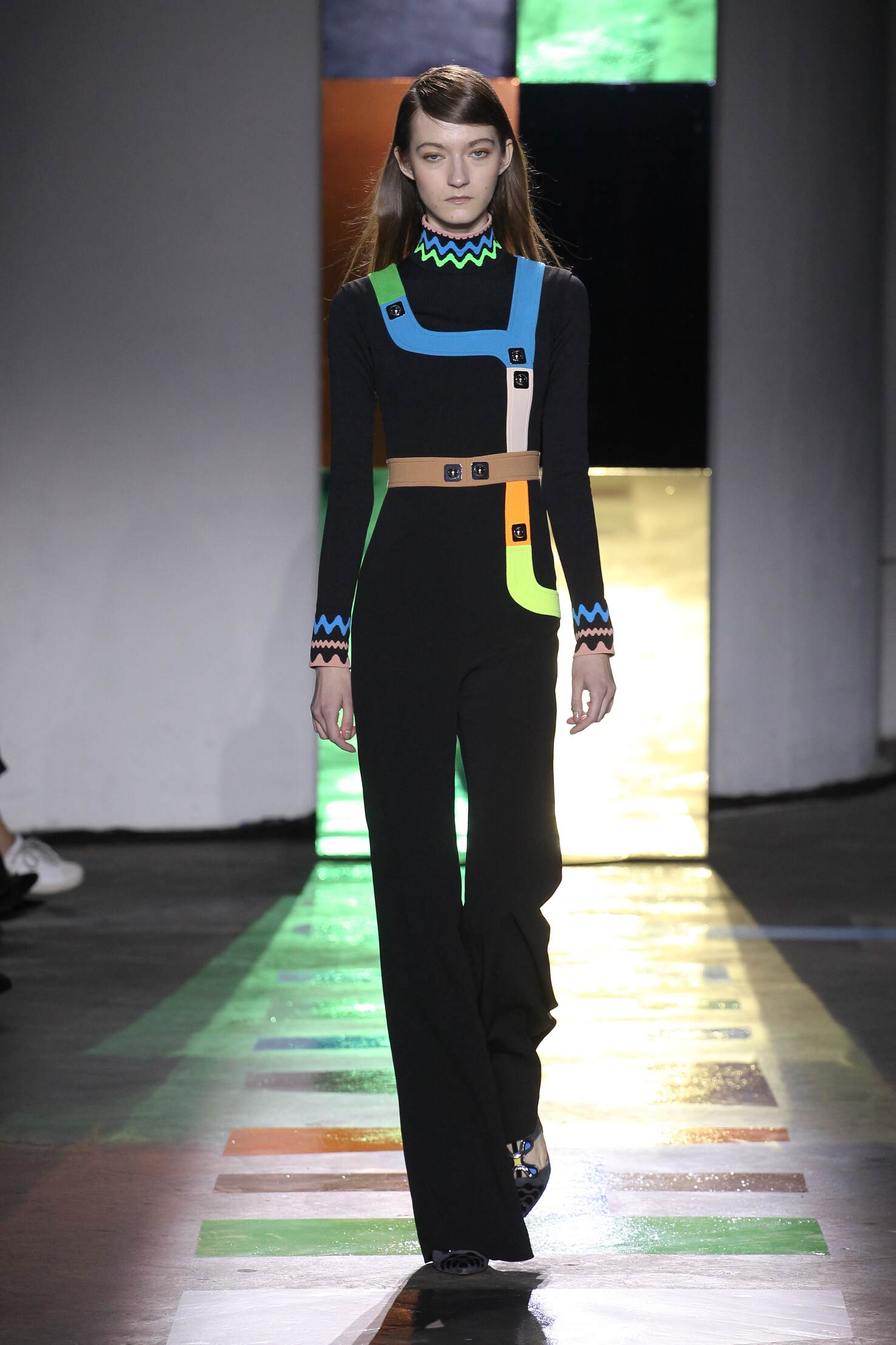 Peter Pilotto Collection Fall 2015 Catwalk