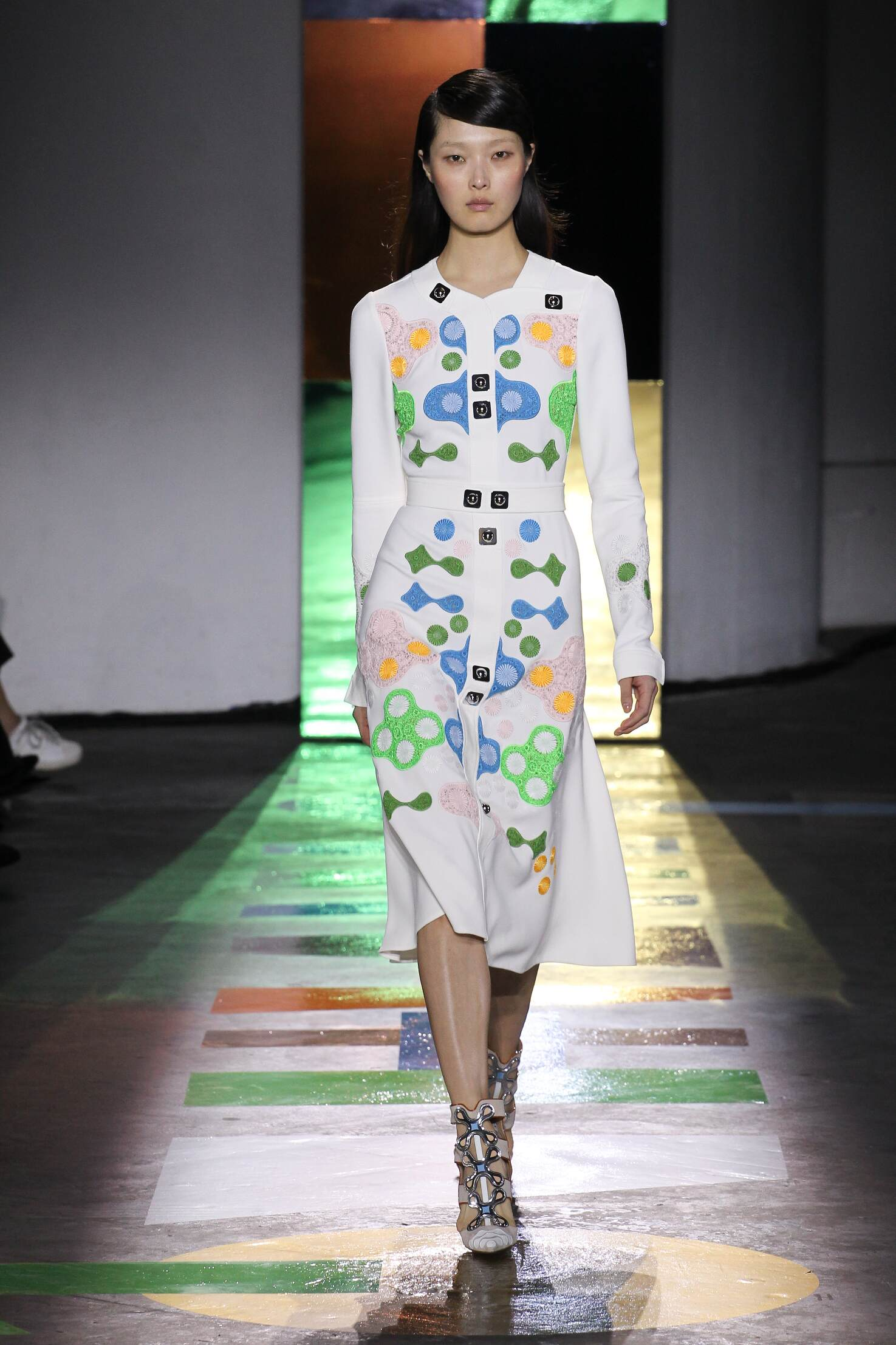 Peter Pilotto Fall Winter 2015 16 Women's Collection London Fashion Week Fashion Show