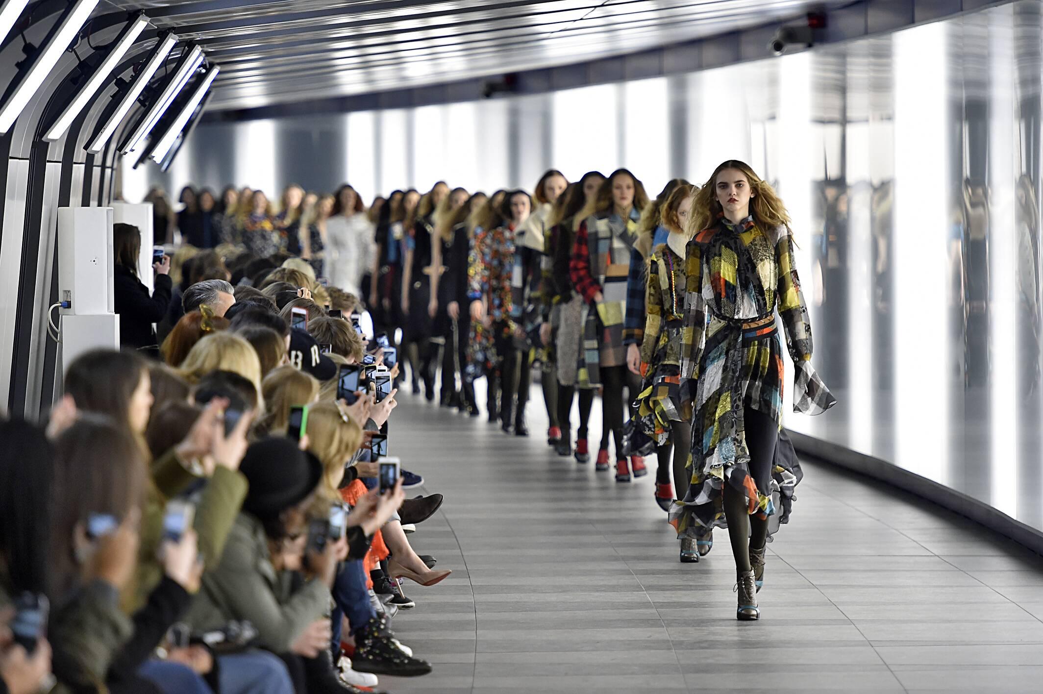 Preen by Thornton Bregazzi Fashion Show 2015 Finale