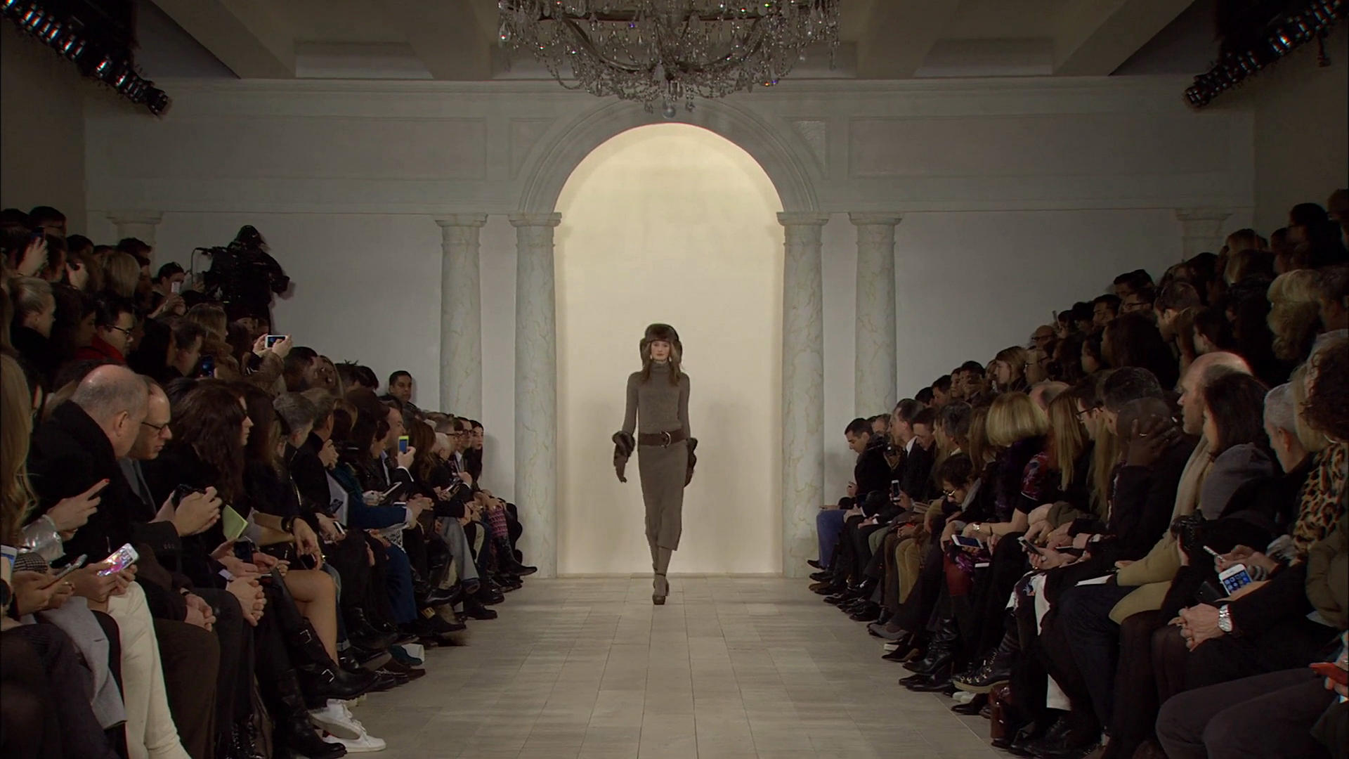 Ralph Lauren Fall Winter 2015-16 Women's Fashion Show - New York Fashion Week