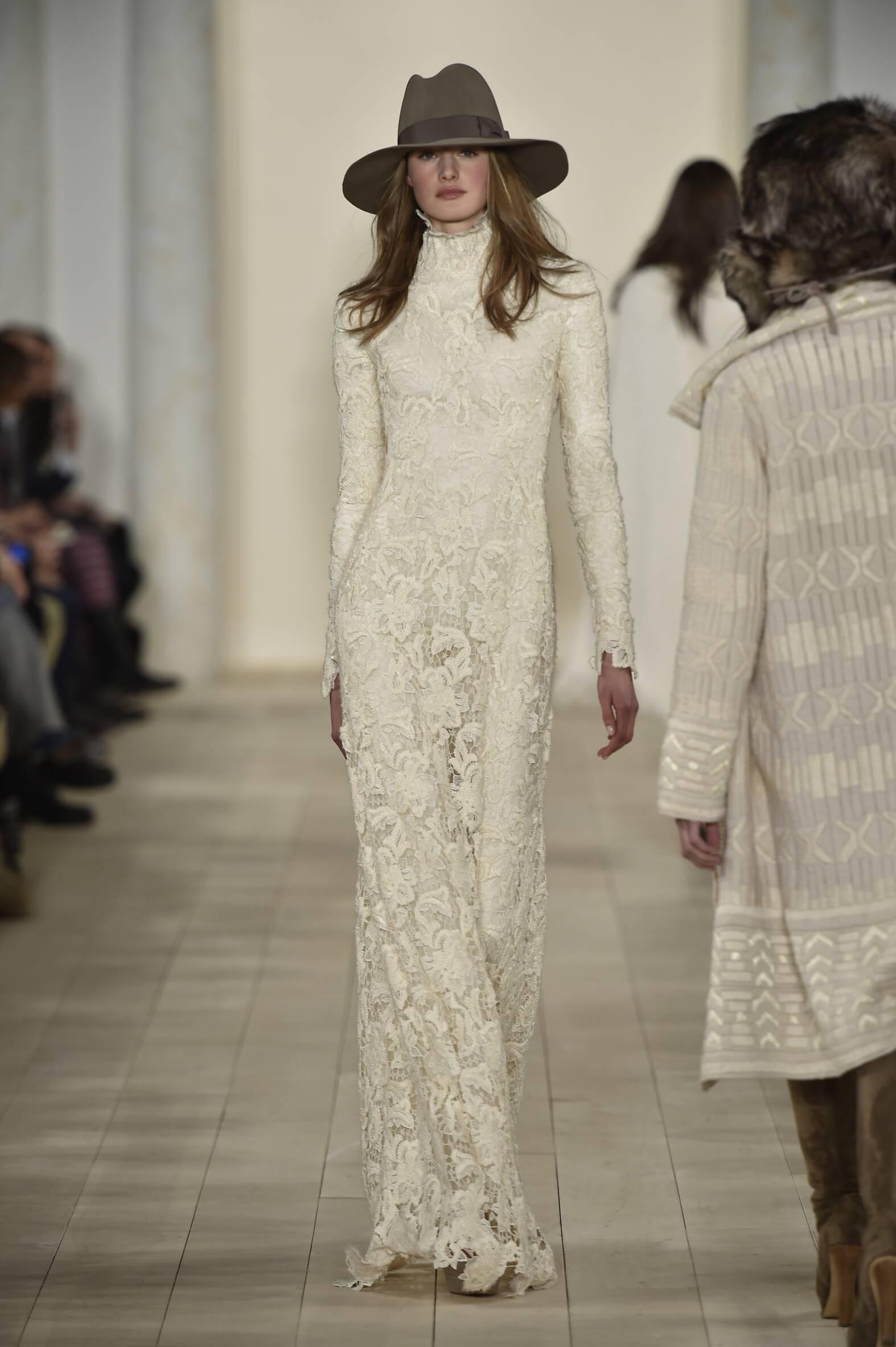 Ralph Lauren Fall Winter 2015 16 Womenswear Collection New York Fashion Week Fashion Show