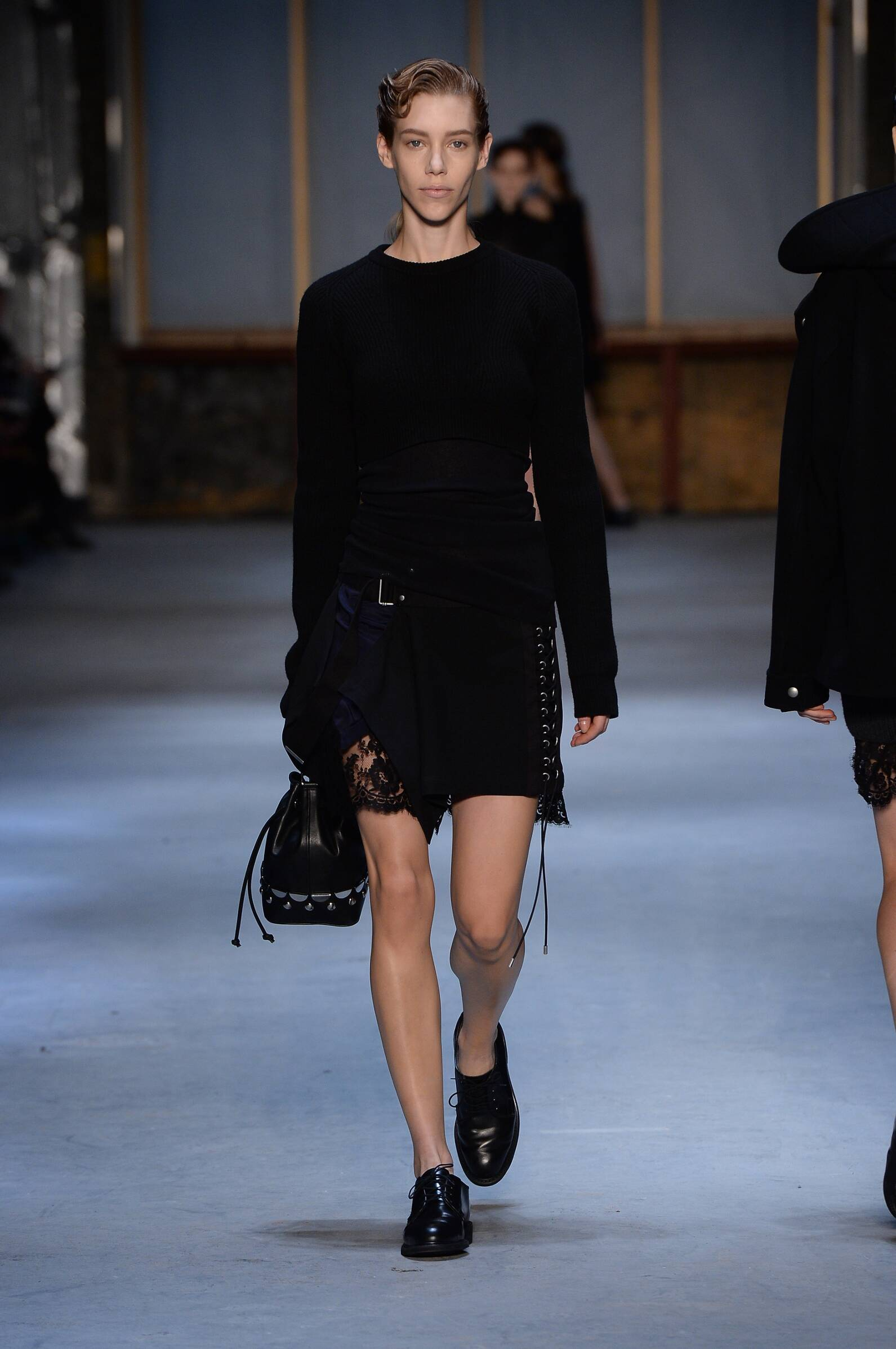Runway Diesel Black Gold Fall Winter 2015 16 Women's Collection New York Fashion Week
