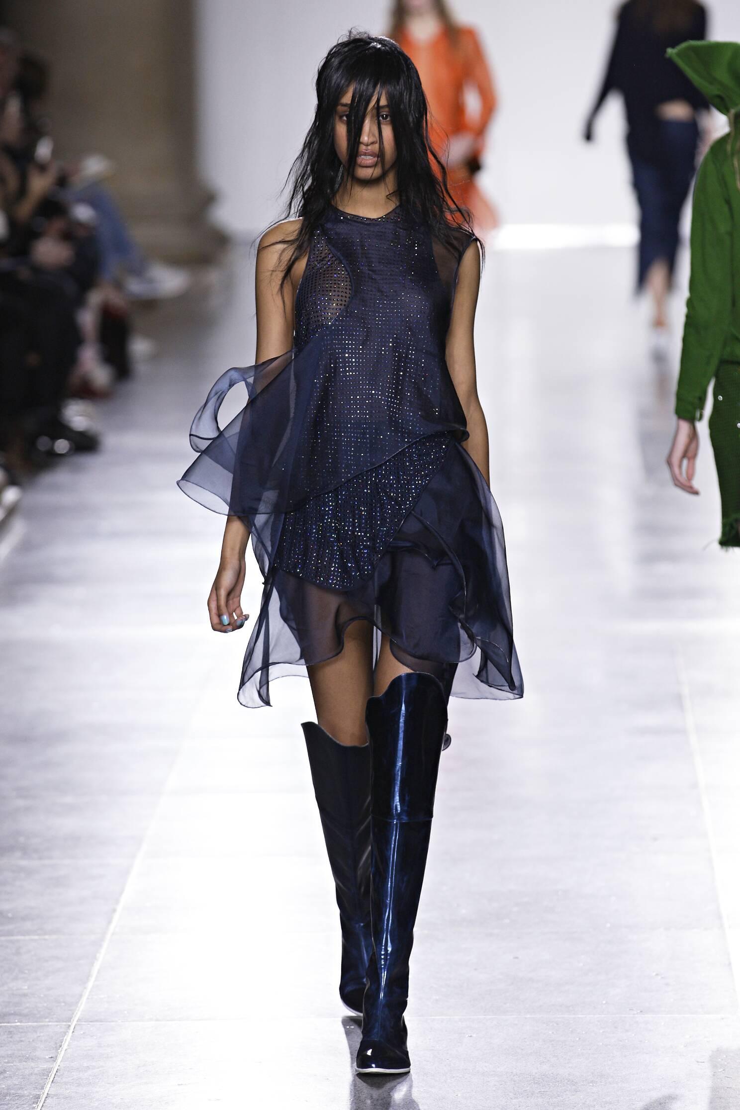 Runway Marques Almeida Fall Winter 2015 16 Women's Collection London Fashion Week