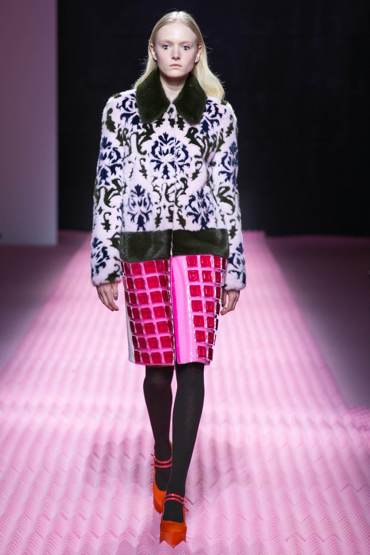 Runway Mary Katrantzou Fall Winter 2015 16 Women's Collection London Fashion Week