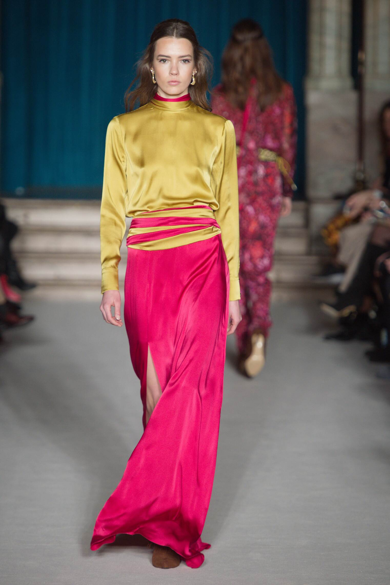 Runway Matthew Williamson Fall Winter 2015 16 Women's Collection London Fashion Week