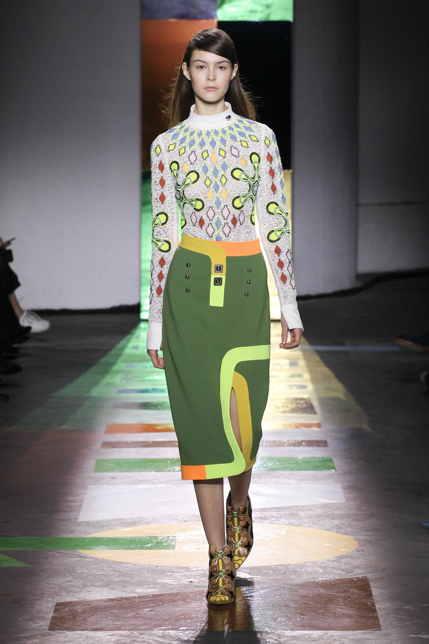 Runway Peter Pilotto Fall Winter 2015 16 Women's Collection London Fashion Week