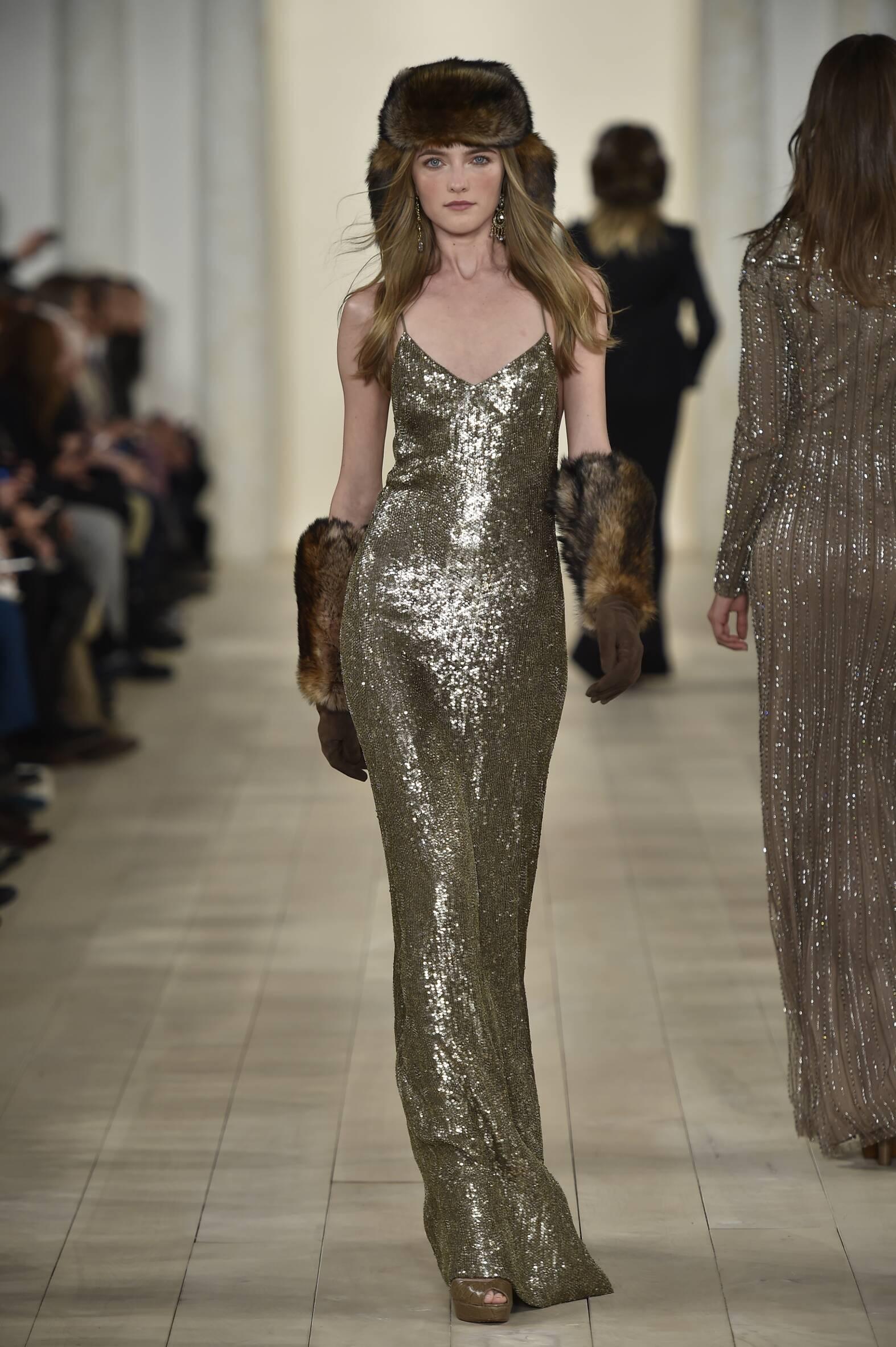 Runway Ralph Lauren Fall Winter 2015 16 Women's Collection New York Fashion Week