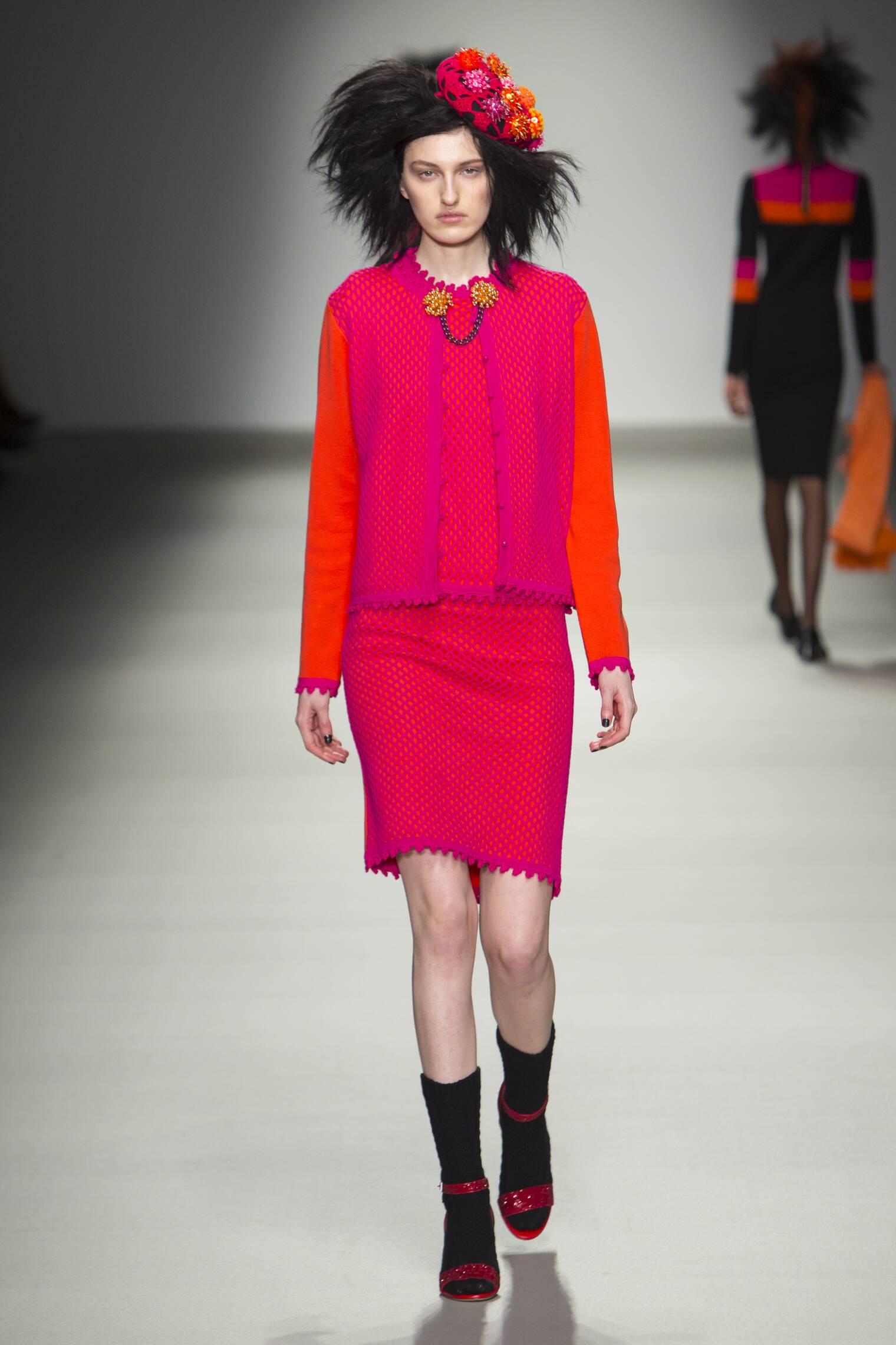 Runway Sibling Fall Winter 2015 16 Women's Collection London Fashion Week
