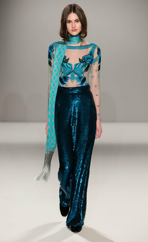 Temperley London Collection London Fashion Week Womenswear