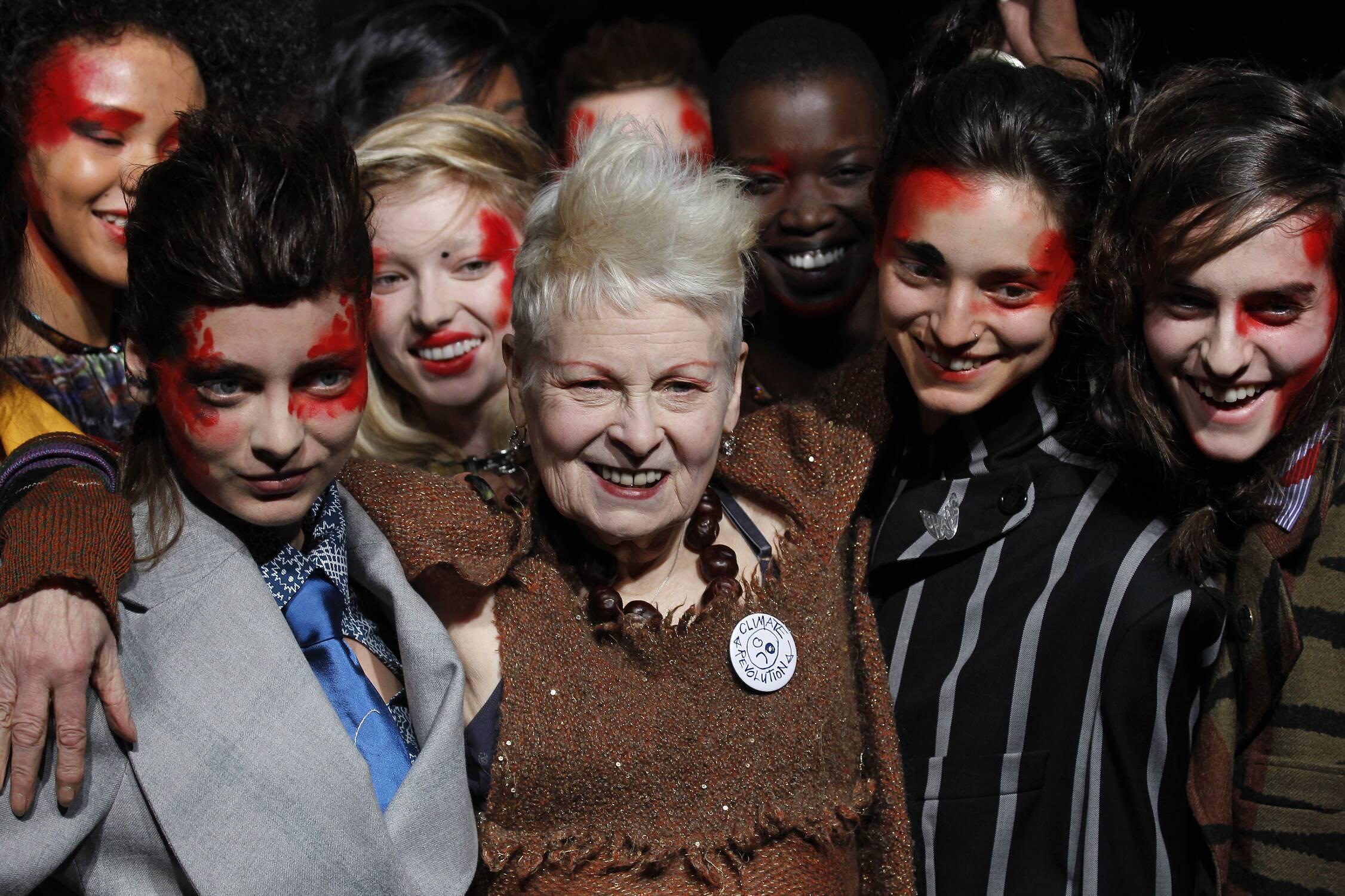 Vivienne Westwood Fashion Show 2015 Finale