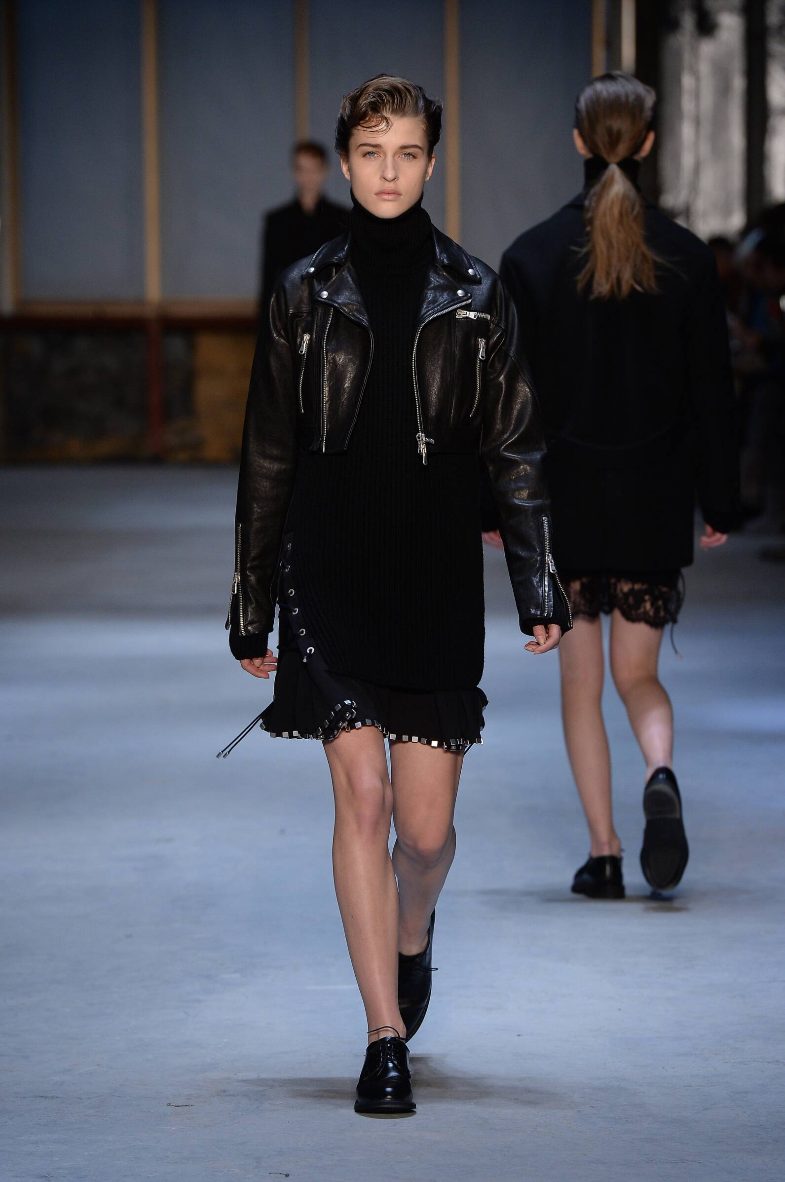Winter 2015 Fashion Show Diesel Black Gold Collection