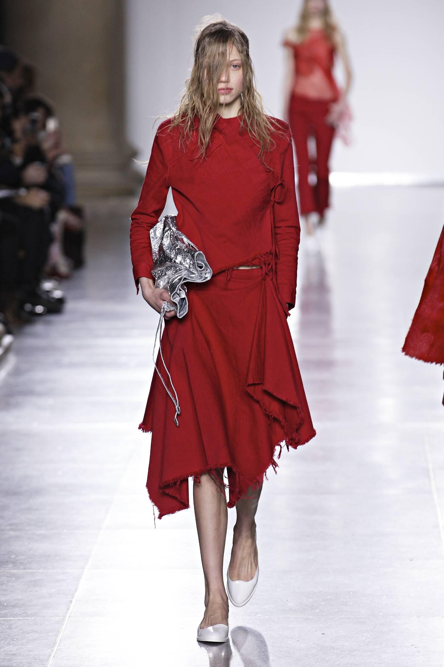 Winter 2015 Fashion Show Marques Almeida Collection