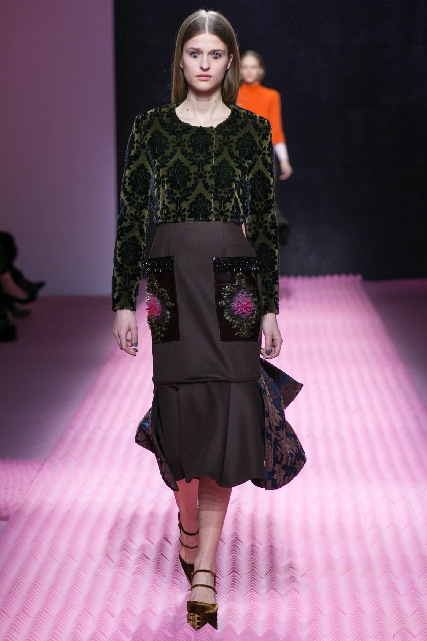 Winter 2015 Fashion Trends Mary Katrantzou Collection