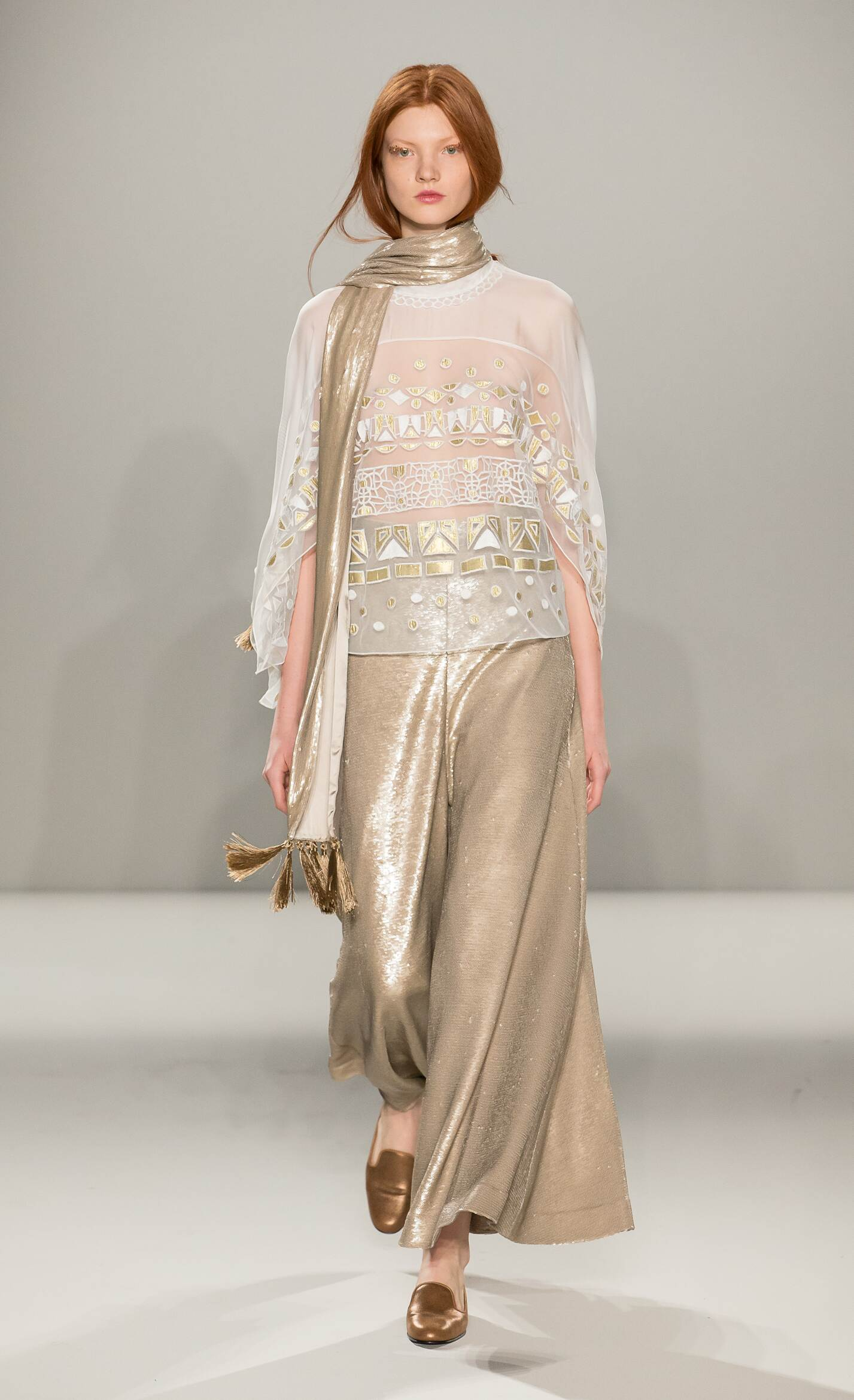 Winter 2015 Runway Temperley London