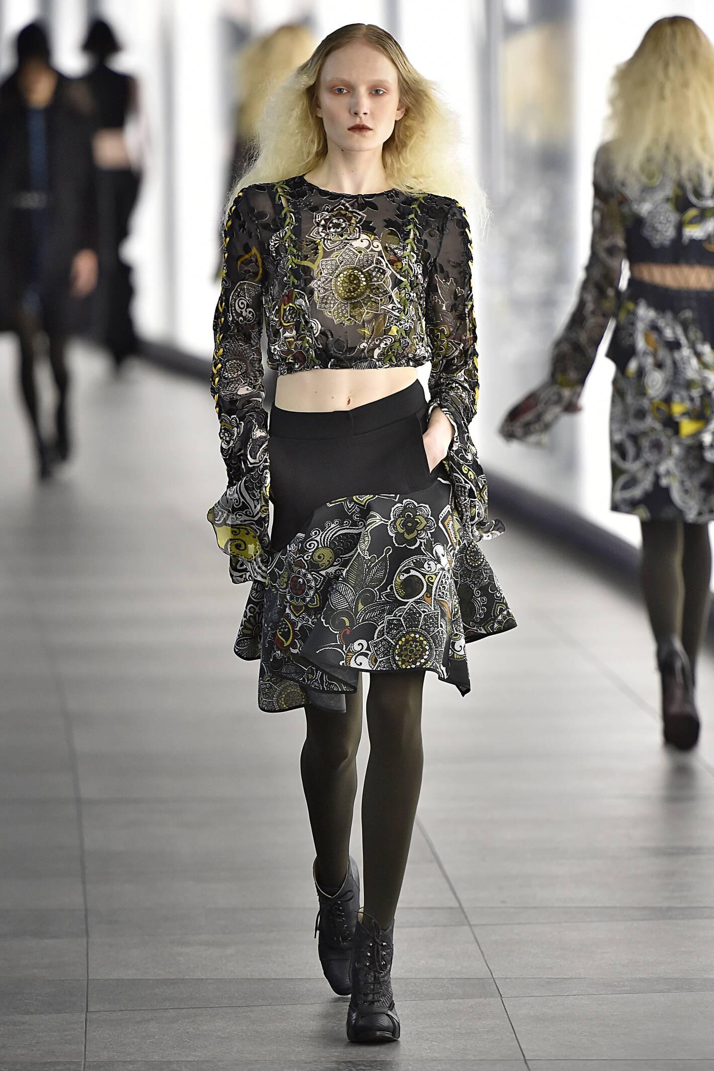 Winter Fashion Trends 2015 2016 Preen by Thornton Bregazzi Collection