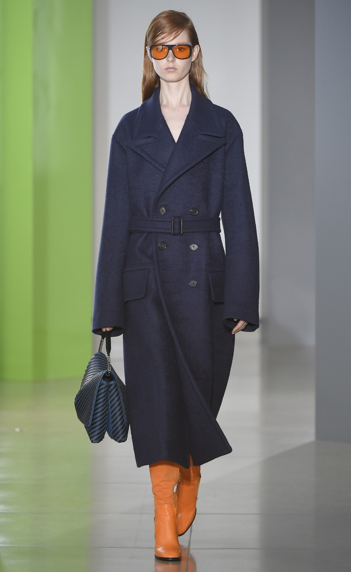 2015 Fashion Woman Model Jil Sander Collection Catwalk