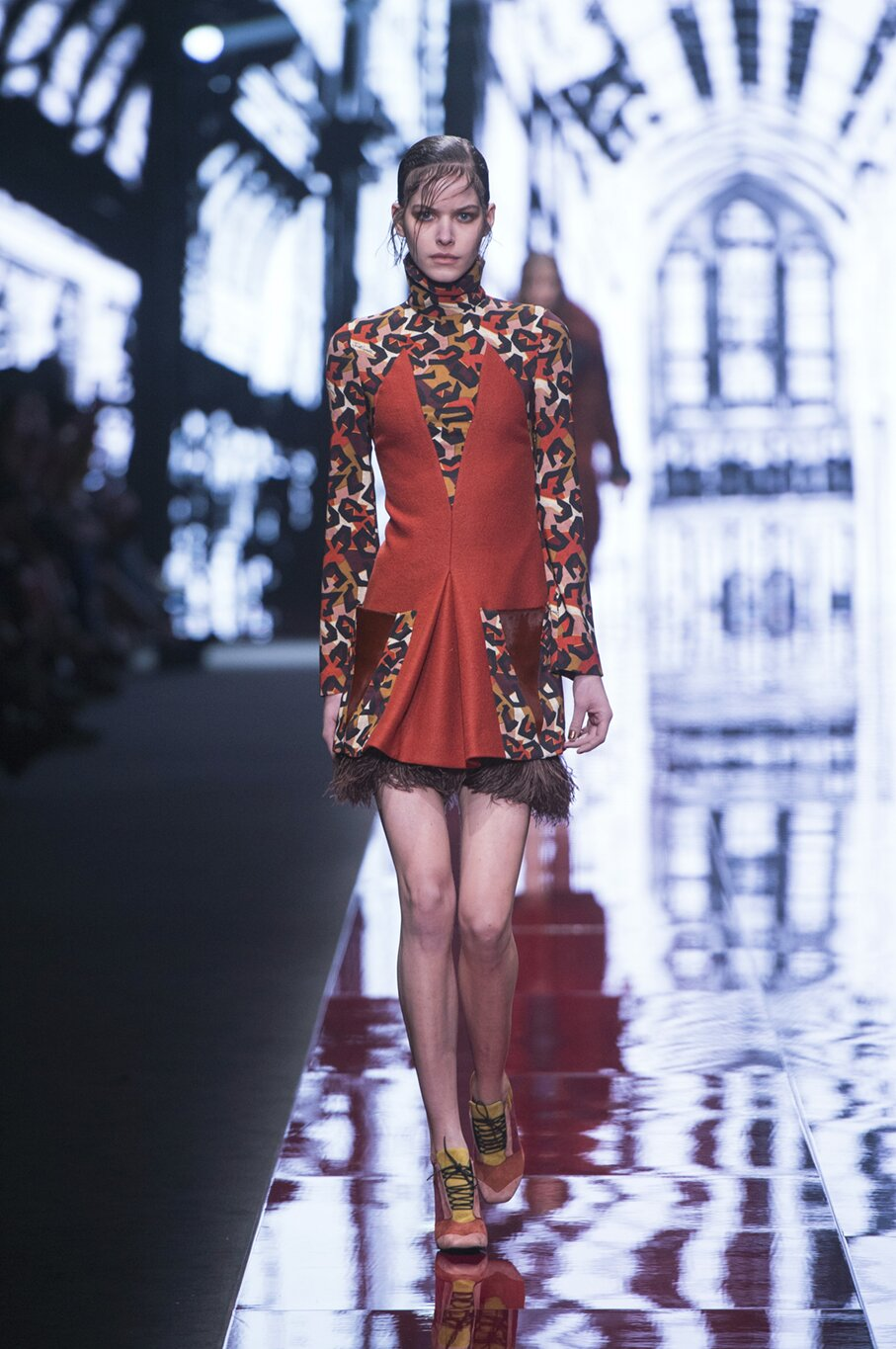 Catwalk Just Cavalli Collection Fashion Show Winter 2015
