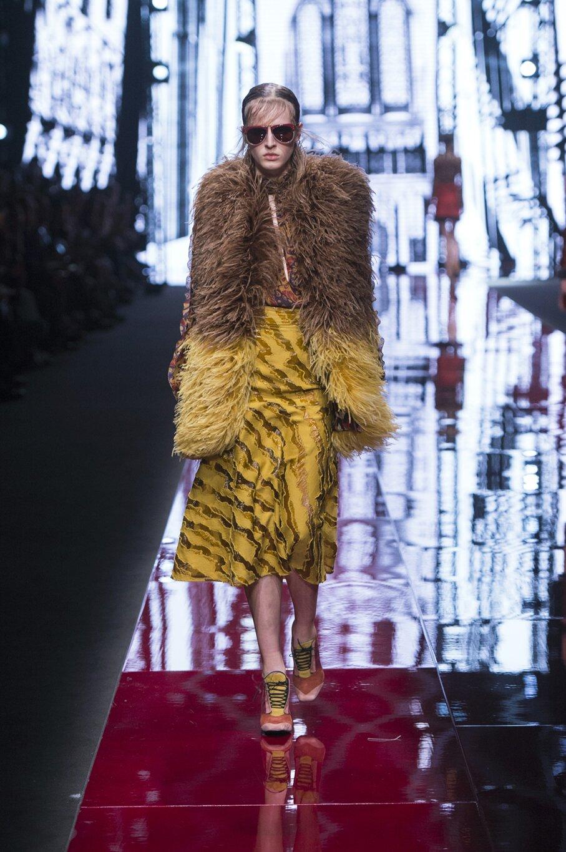 Catwalk Just Cavalli Fall Winter 2015 16 Women's Collection Milan Fashion Week