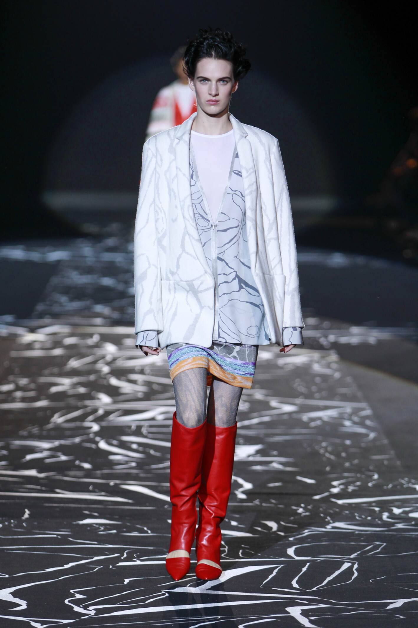Catwalk Missoni Collection Fashion Show Winter 2015