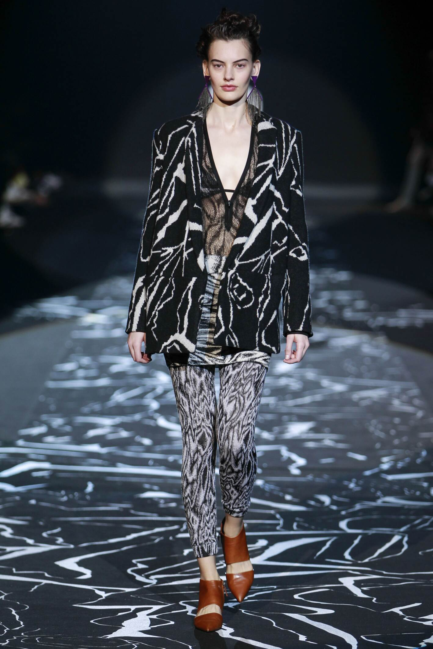 Catwalk Missoni Fall Winter 2015 16 Women's Collection Milan Fashion Week