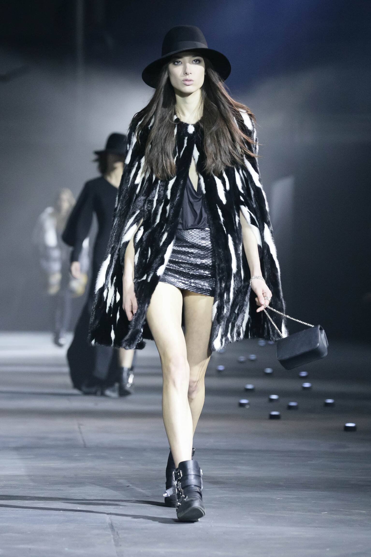 Catwalk Philipp Plein Collection Fashion Show Winter 2015